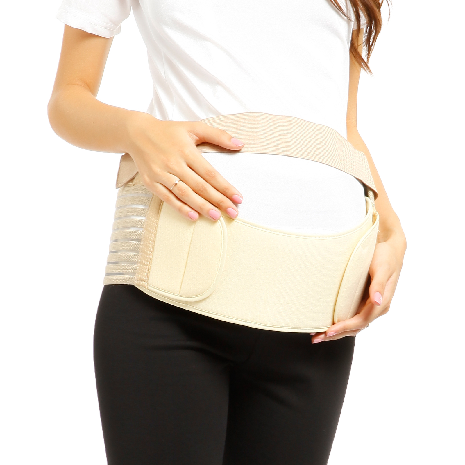 Maternity Pregnancy Support Belt Prenatal Belly Band Waist ...