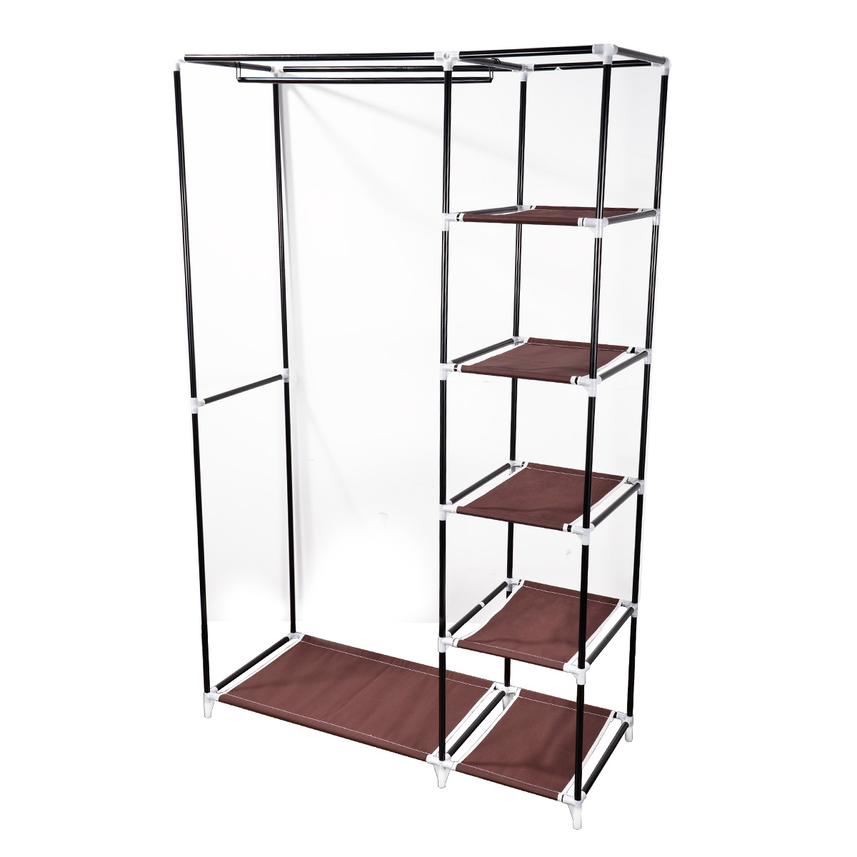 kleiderschrank faltschrank stoffschrank campingschrank. Black Bedroom Furniture Sets. Home Design Ideas