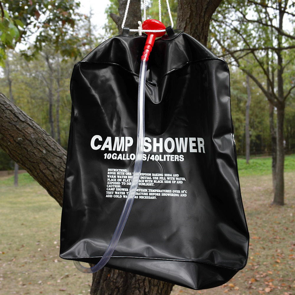 Outdoor Dusche Solar : Portable Outdoor Shower for Camping