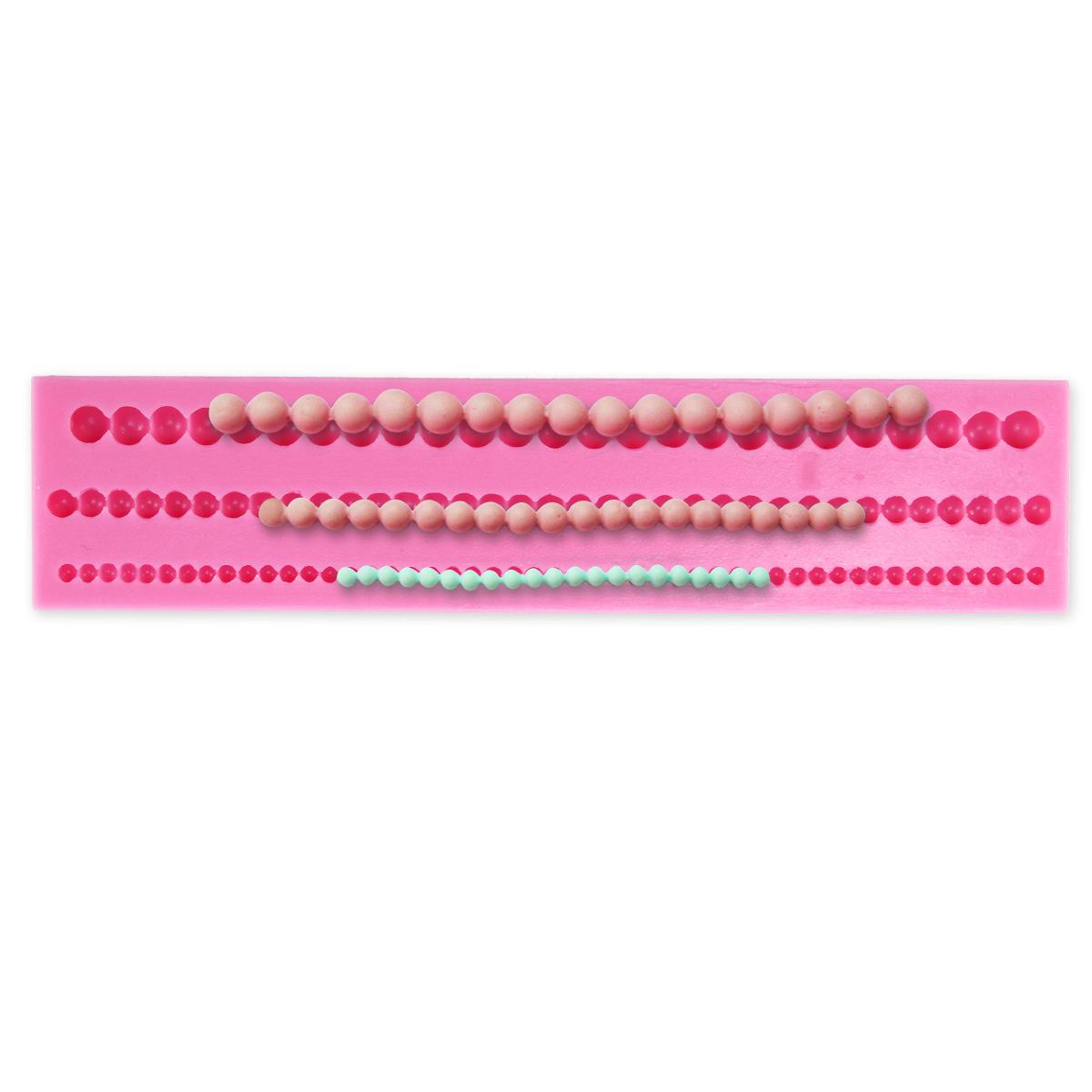 Molde silicona cadenas de perlas para decorar tartas - Moldes silicona amazon ...