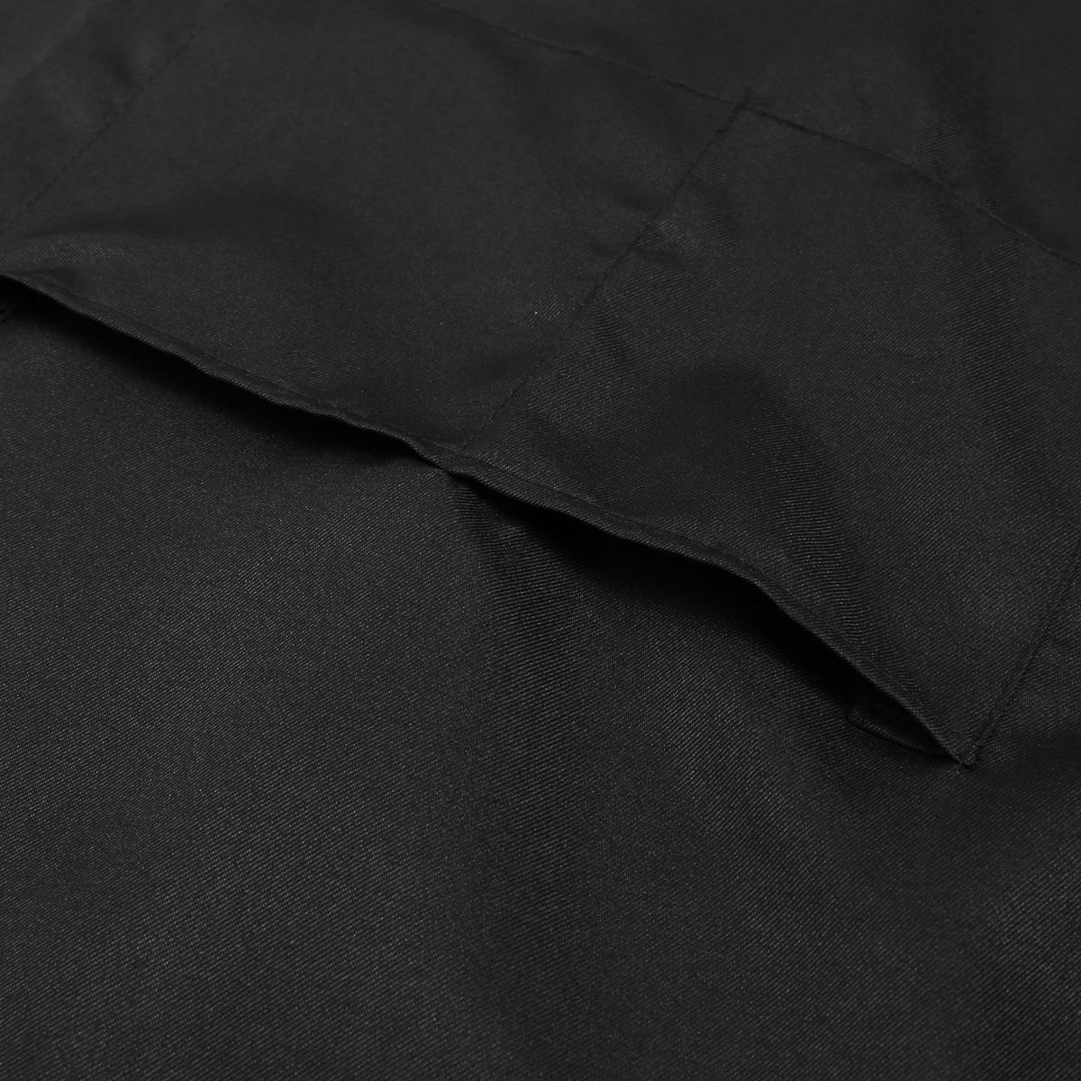 White apron hours - Mens Ladies Womens Work Apron Overall Plain Uniform Catering Pocket Black