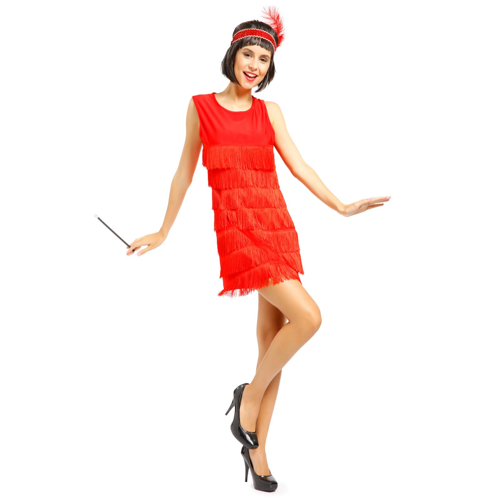 sexy robe a frange charleston gatsby 20s tassel dress deguisement carnaval da. Black Bedroom Furniture Sets. Home Design Ideas