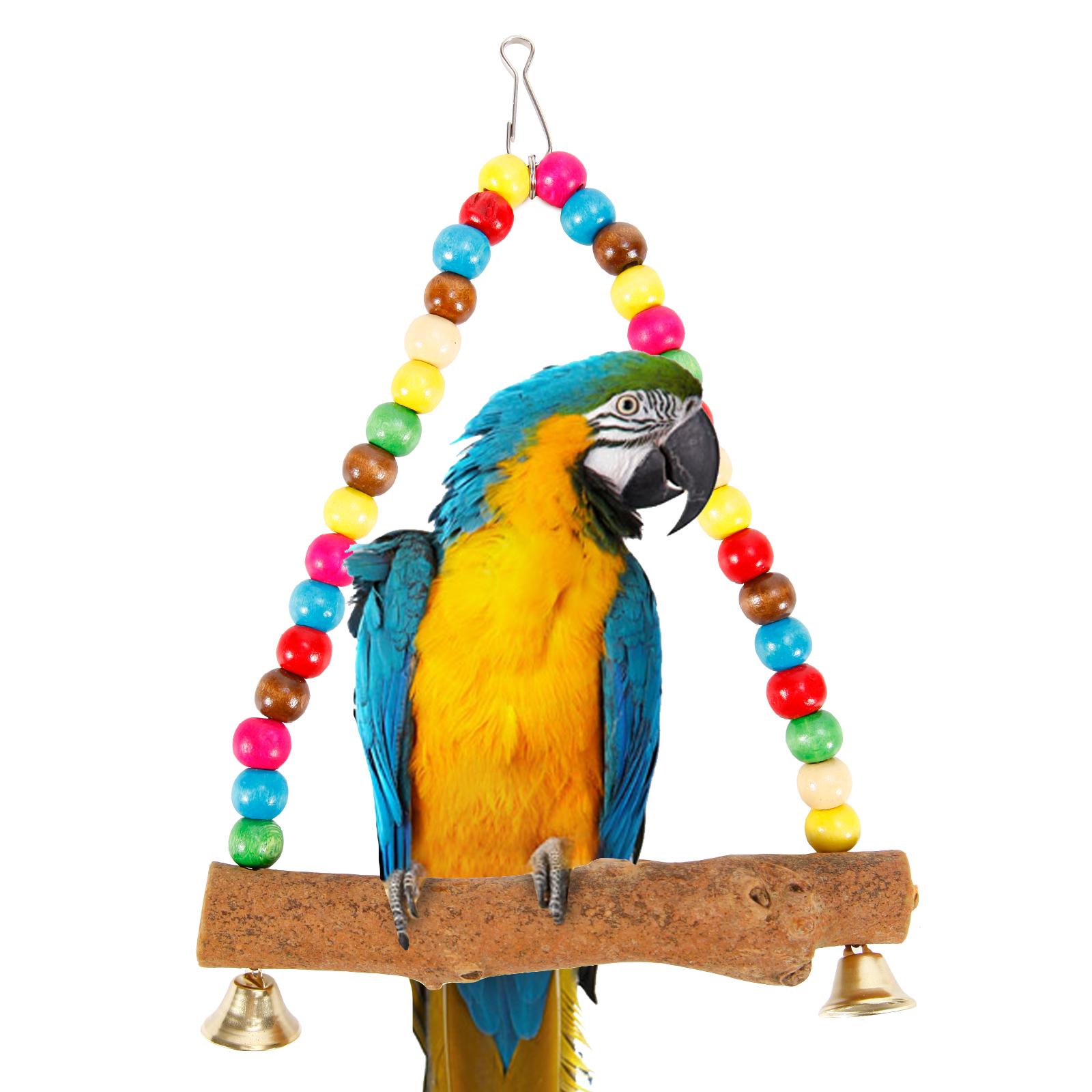 Vögel spielzeug vogelschaukel hängebrücke kletterspirale