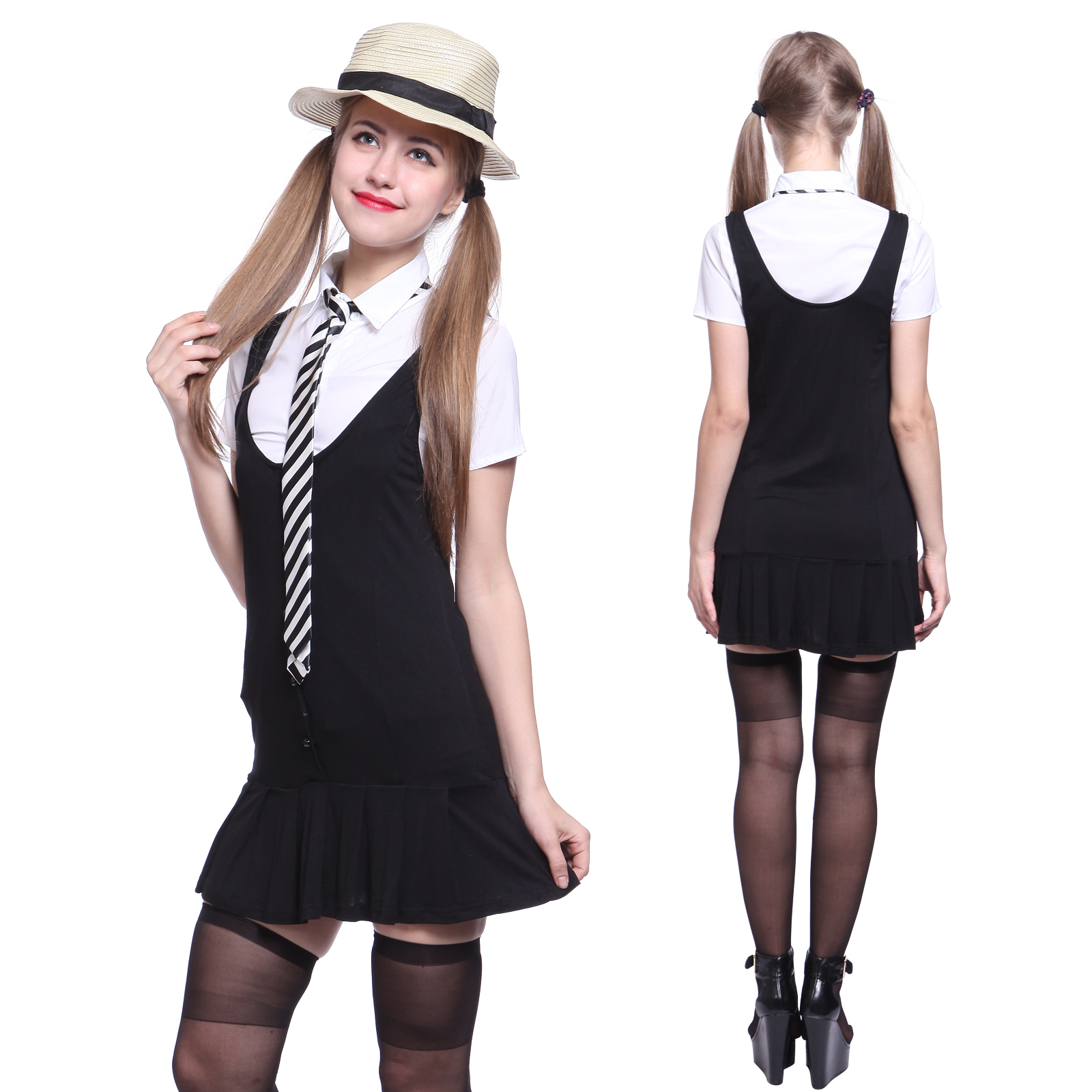 Interesting. st trinian school uniform interesting