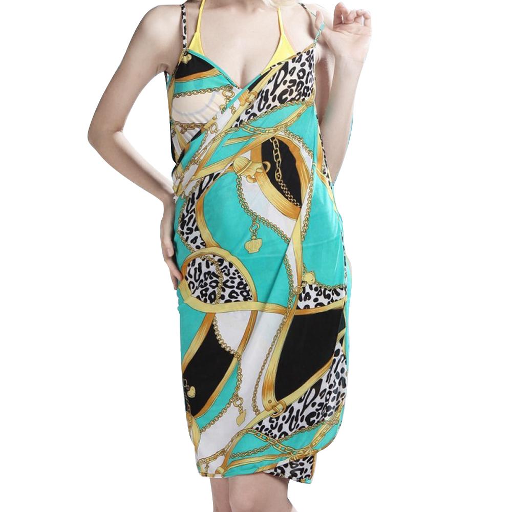 Exotic Tropical style Beach bikini swimwear AQUA COVER UP ...
