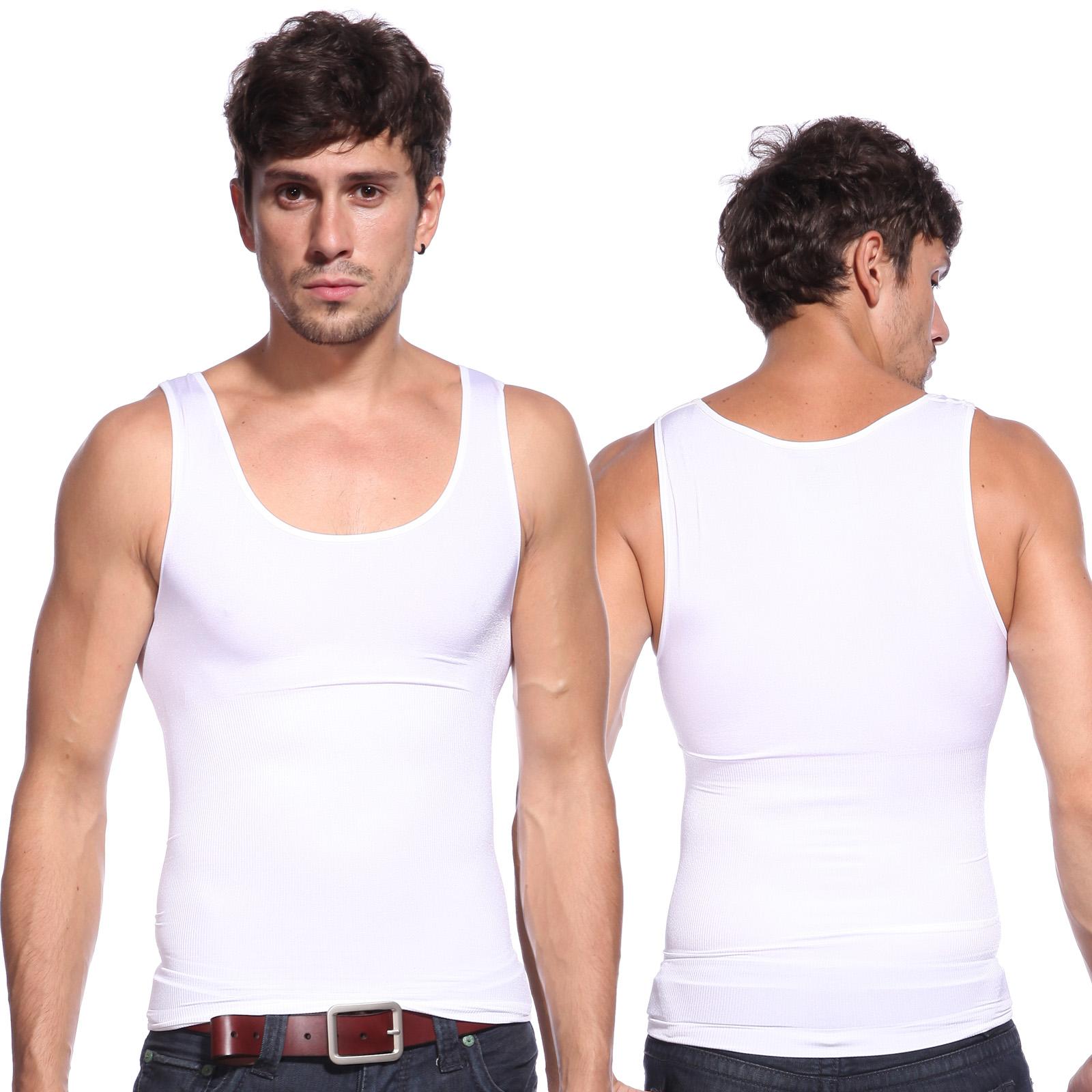 Mature mens shaping under shirts