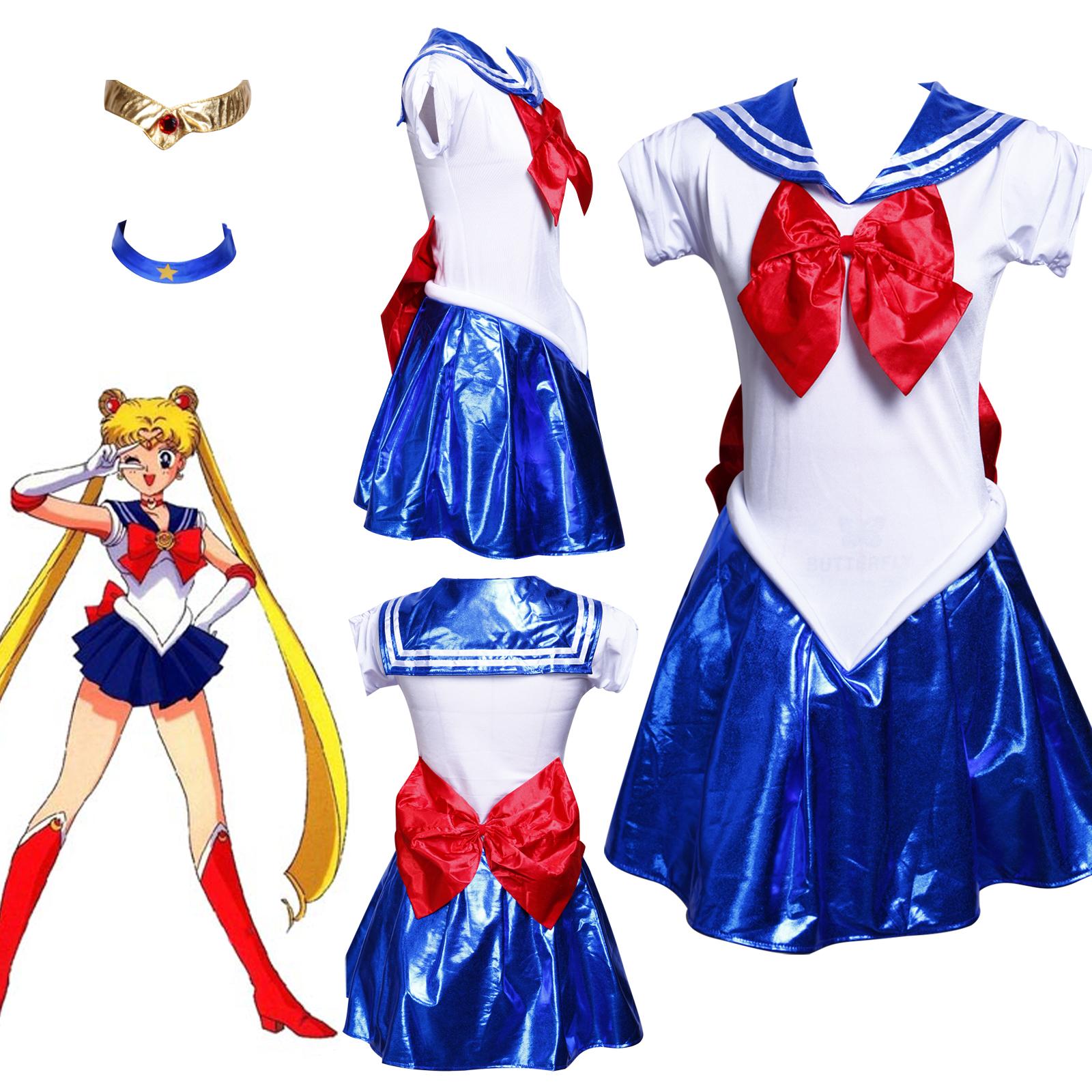 sailormoon sailor moon venus uranus costume uniform fancy. Black Bedroom Furniture Sets. Home Design Ideas