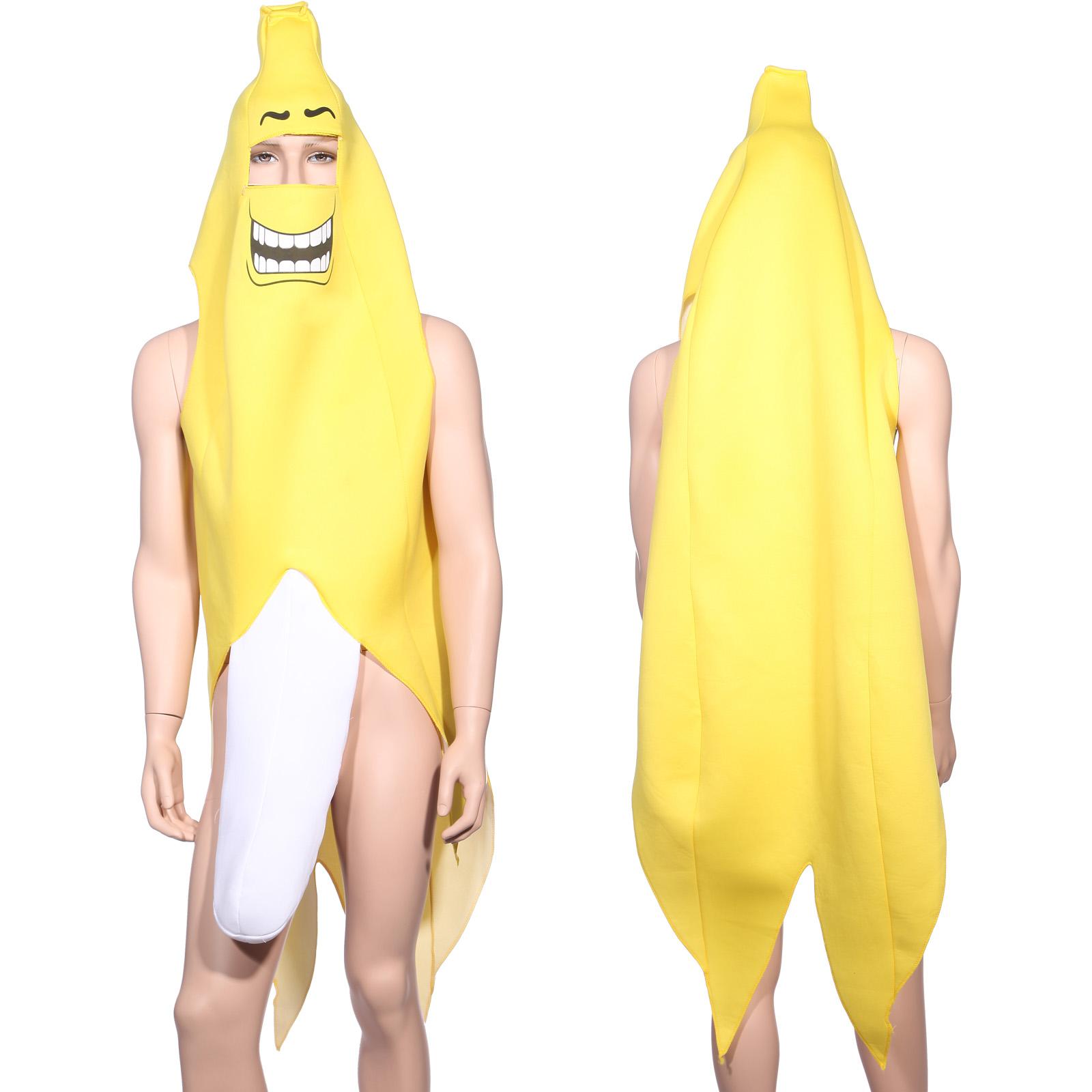 Adult Banana Split Costume Fancy Dress Bachelor Fruit Stag do Party ...: ebay.com/itm/adult-banana-split-costume-fancy-dress-bachelor-fruit...