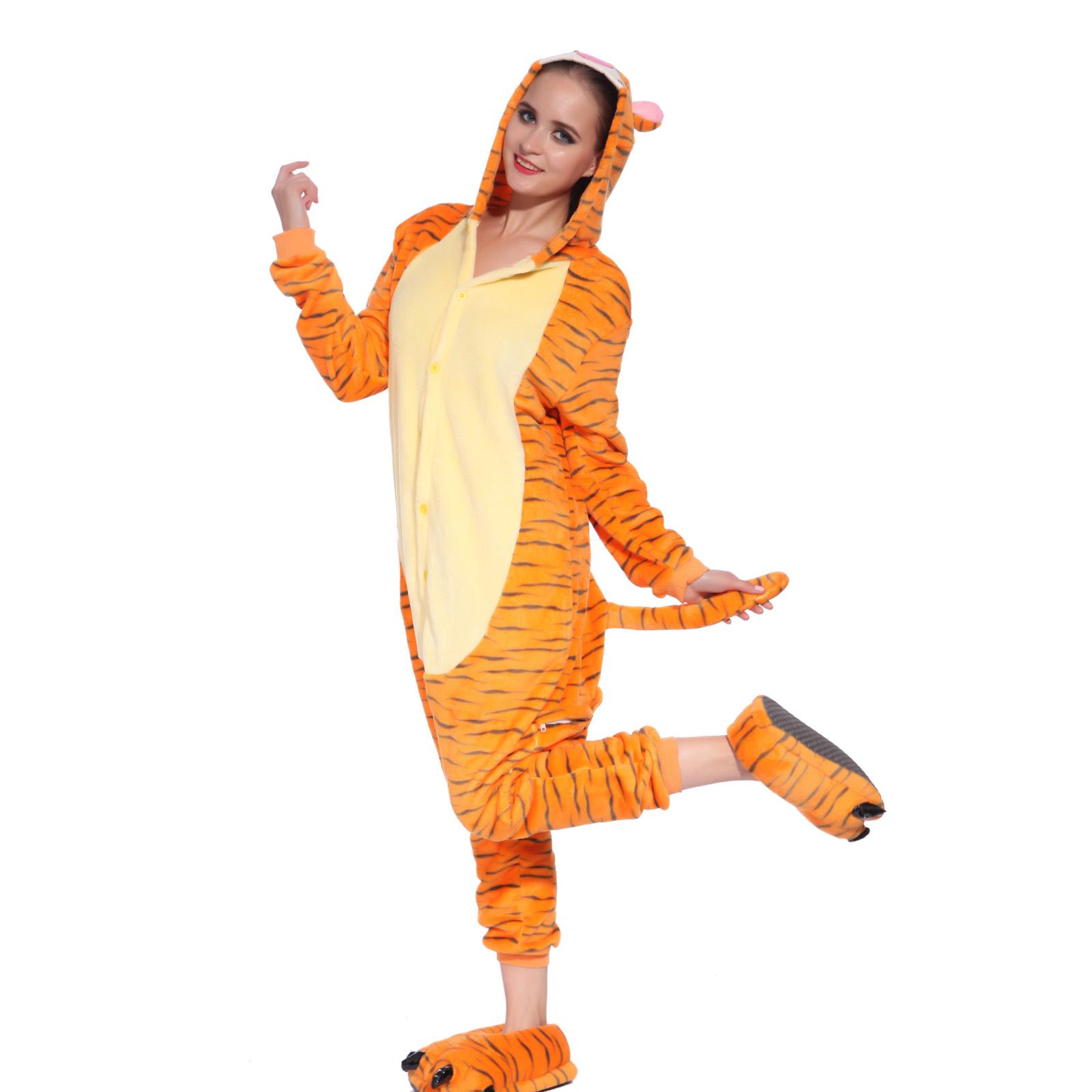 pyjama combinaison lingerie nuit cosplay animal vache zebre mere enfant famille ebay. Black Bedroom Furniture Sets. Home Design Ideas