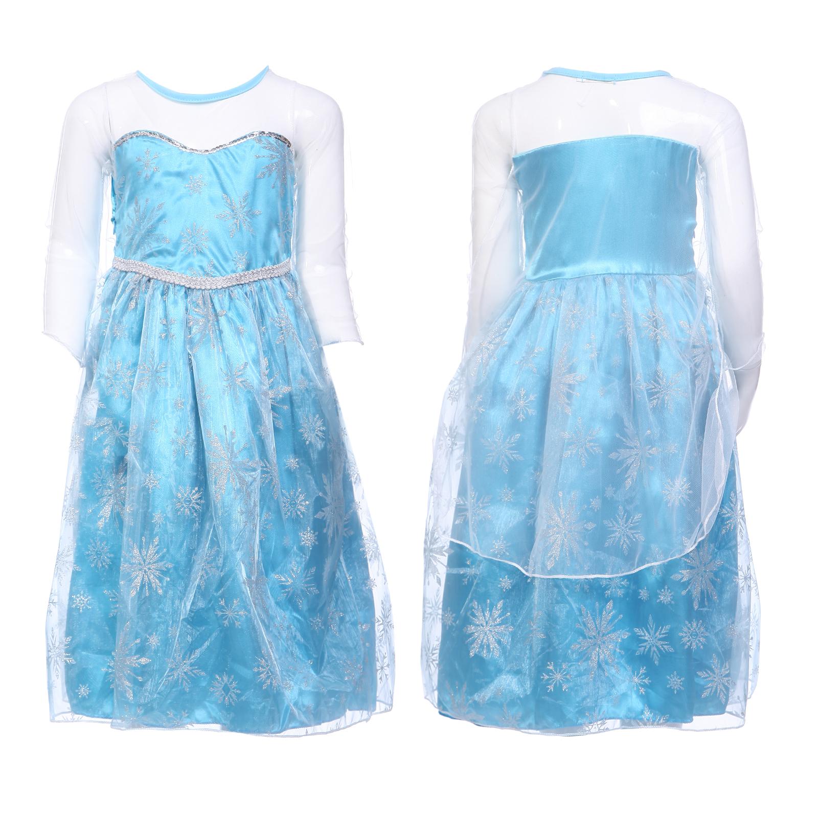 Frozen Kleid Elsa - Garten Ideen Selber Bauen