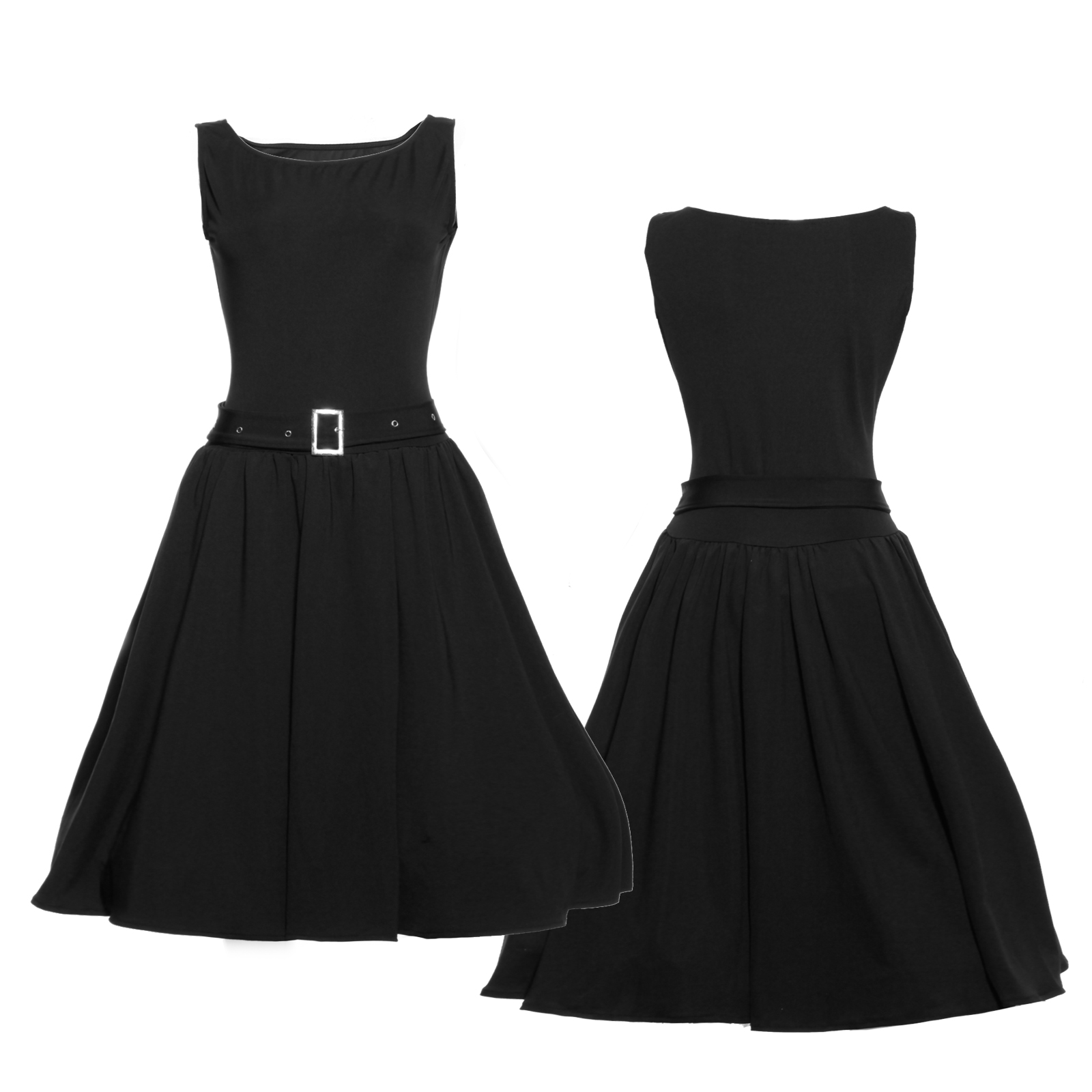 50er hepburn stil damen rockabilly cocktail party kleid swing kleider petticoat ebay - Rockabilly outfit damen ...