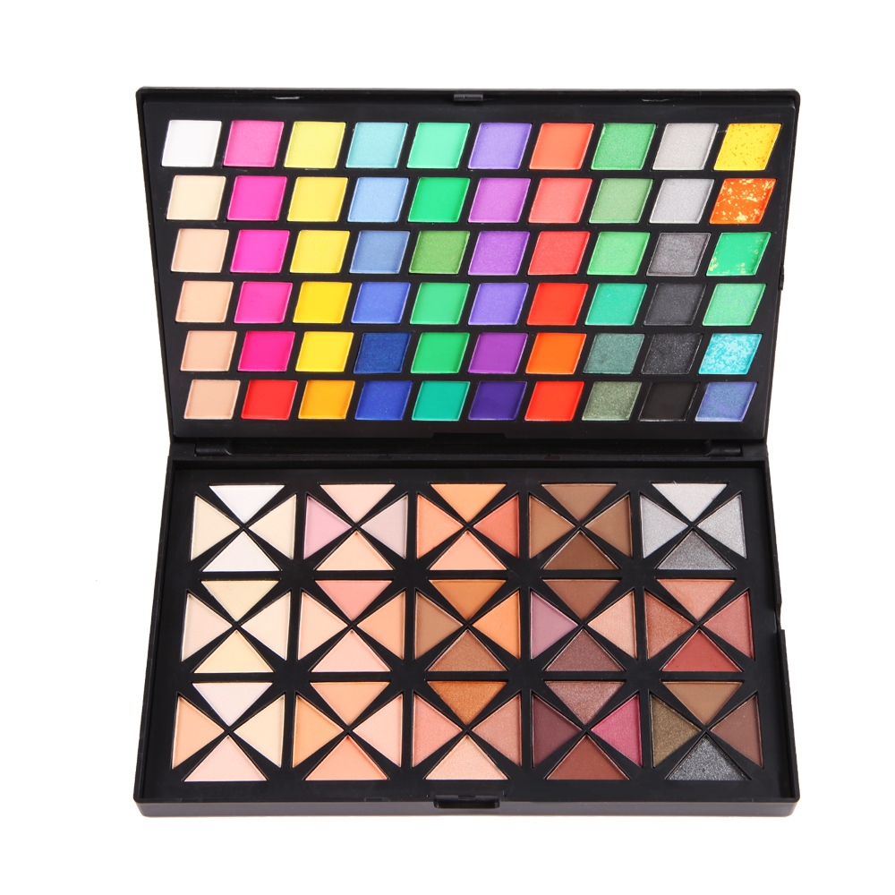 palette professionnel ombre cosmetique yeux fard a paupieres maquillage ebay. Black Bedroom Furniture Sets. Home Design Ideas
