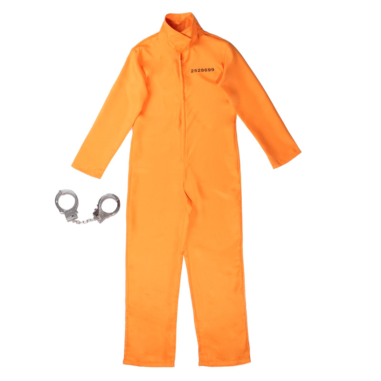 str fling h ftling gefangene gefangener gangster kost m costume overall kriminal ebay. Black Bedroom Furniture Sets. Home Design Ideas