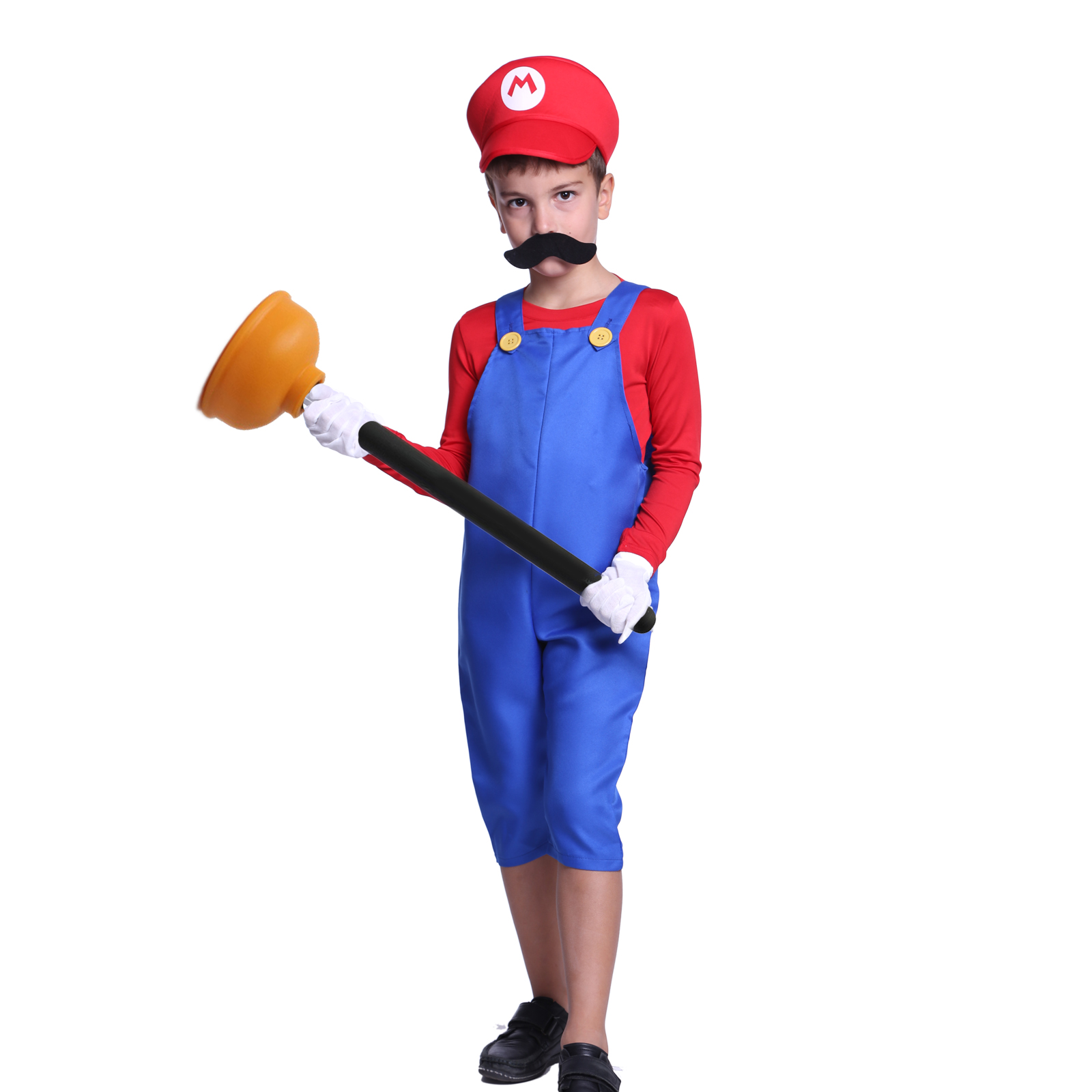 costume deguisement super mario luigi garcons hommes jeux video fete rouge vert ebay. Black Bedroom Furniture Sets. Home Design Ideas