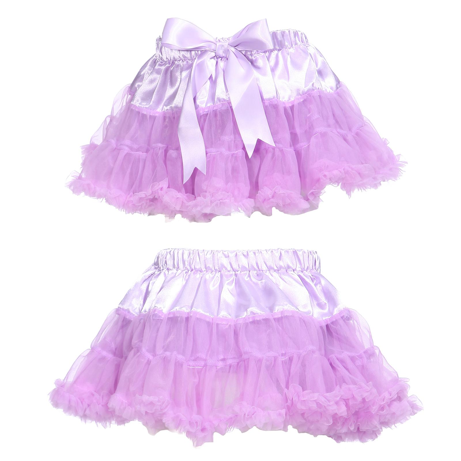 robe tutu fille enfant 4 10 ans 2 couches jupe jupon transparent elastique danse ebay. Black Bedroom Furniture Sets. Home Design Ideas