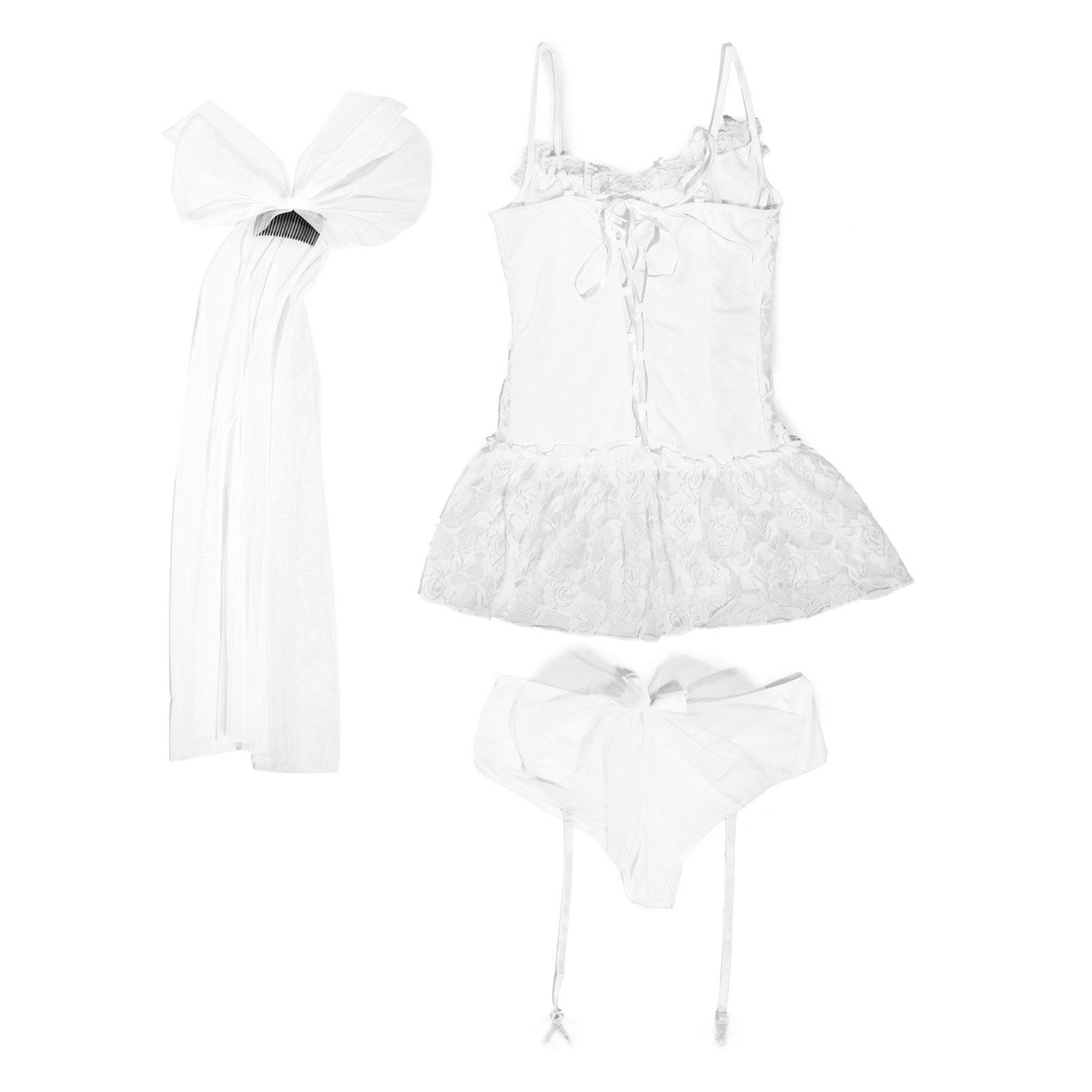 Sexy Bride Bridal Bridesmaid Wedding Costume Hen Night