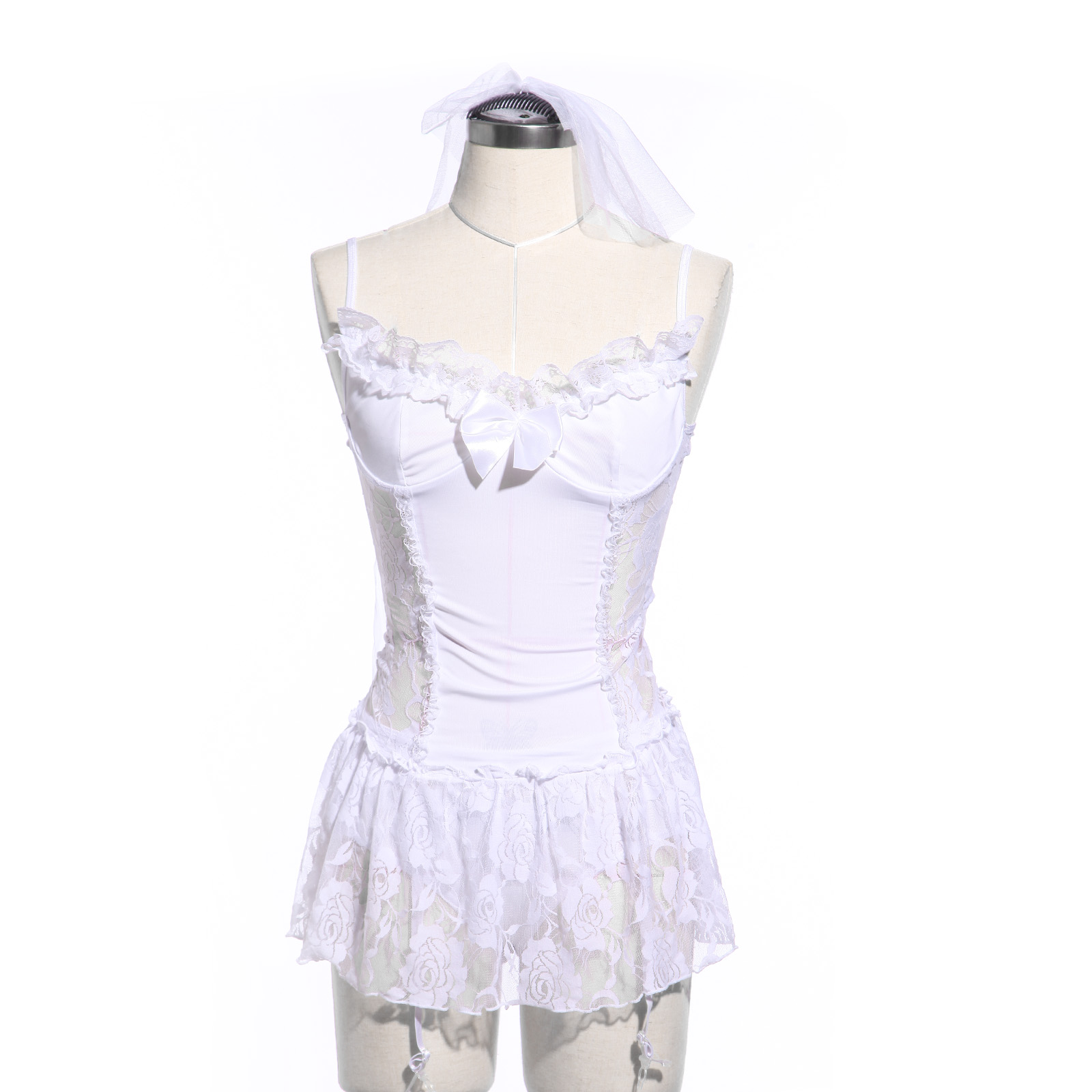 Sexy bride bridal bridesmaid wedding costume hen night for Sexy wedding dress costume