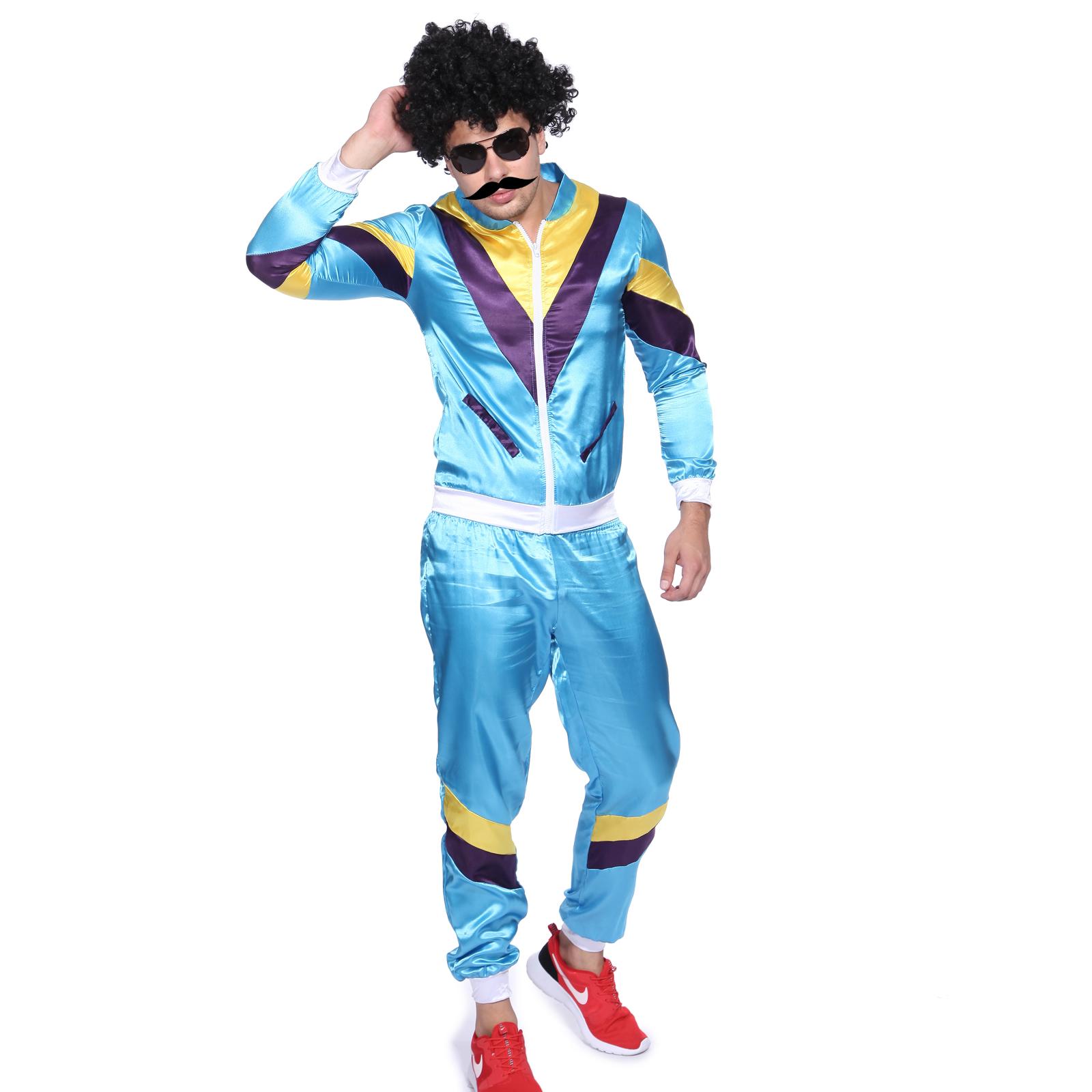 Préférence Tenue Deguisement Hip Hop Vintage Retro 80s Survetement Hippy  TE13