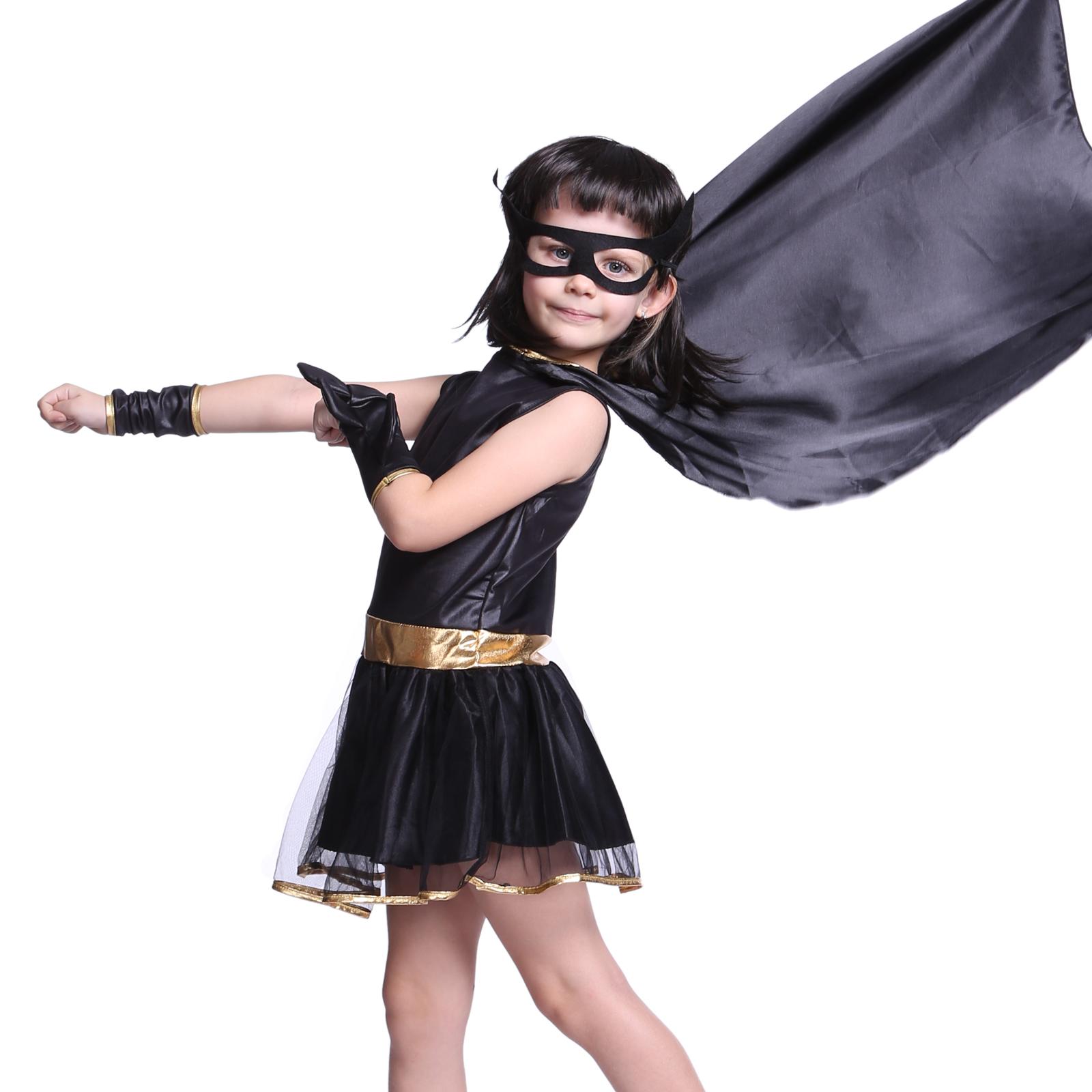 Girls Toddler Batman Batgirl Costume Kids Party Fancy  sc 1 st  Meningrey & Batman Costume For Girls - Meningrey