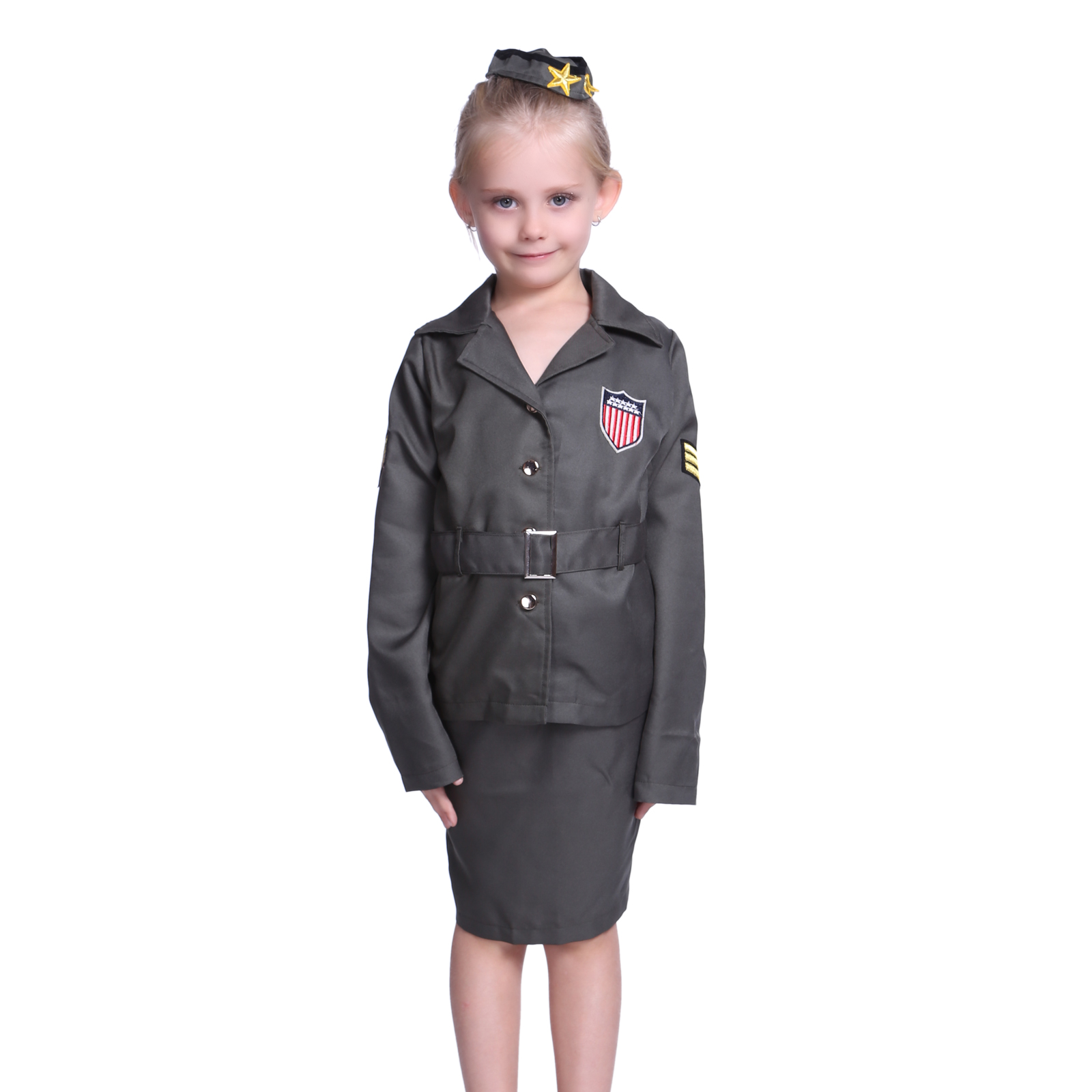 Kids Military Clothing, Uniforms, & Items Kids Military Uniforms Kids Military Uniforms Browse our selection below of kids military uniforms including great package deals on kids ACUs, kids BDUs, and kids DCUs, including Woodland camo and urban city camo.