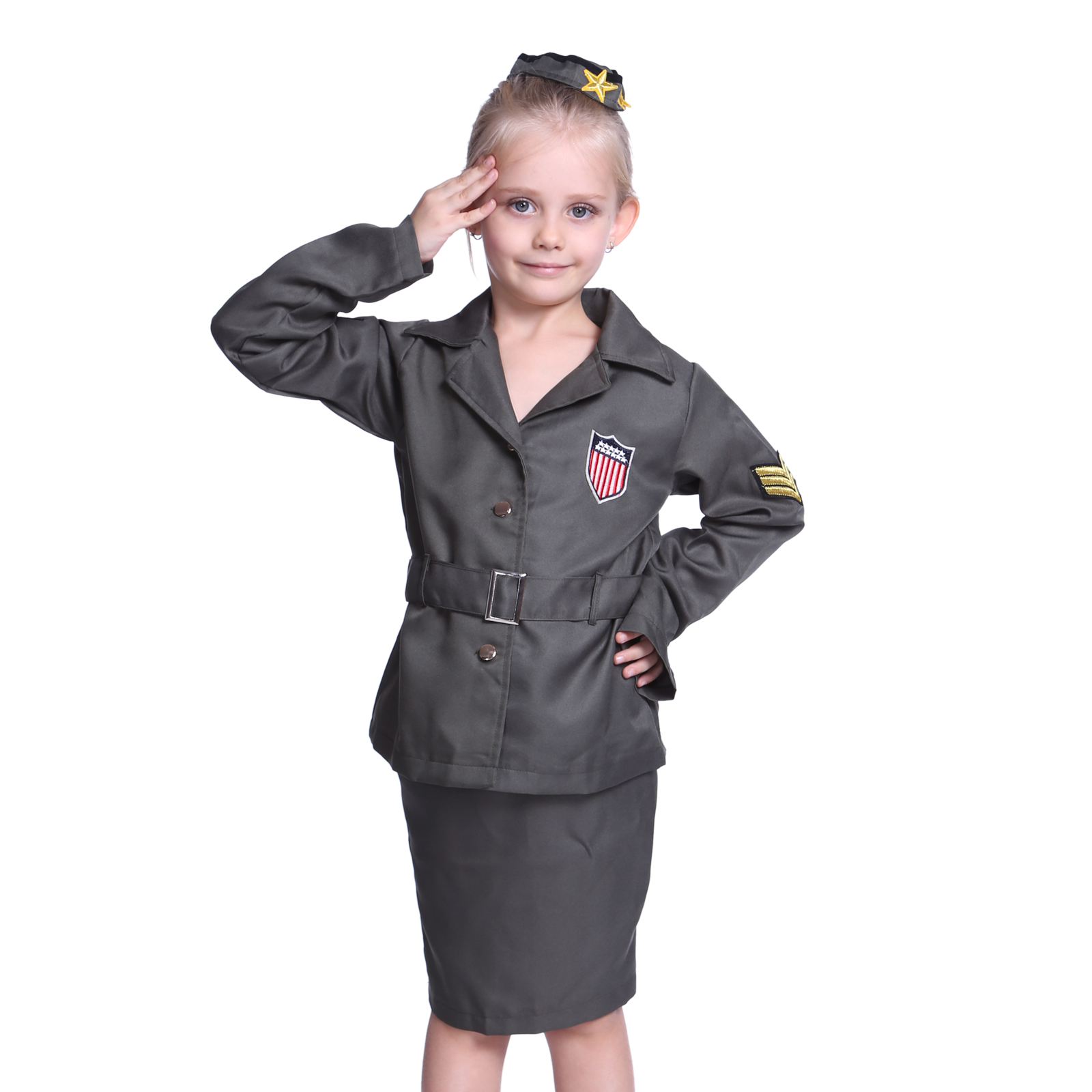 Buy Kids Military Uniforms from STORENAME. Receive exclusive sale offers and be the first to know about new products!