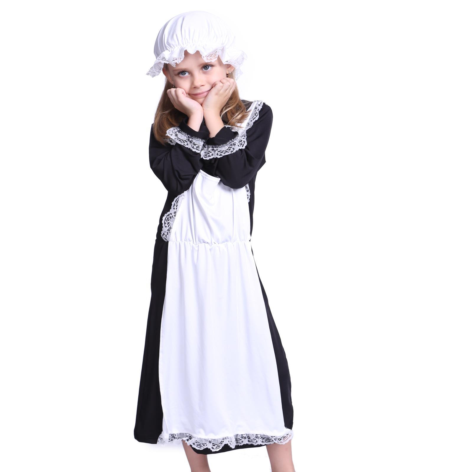 Child Victorian Poor Girl Fancy Dress Book Week Kids Maid ...