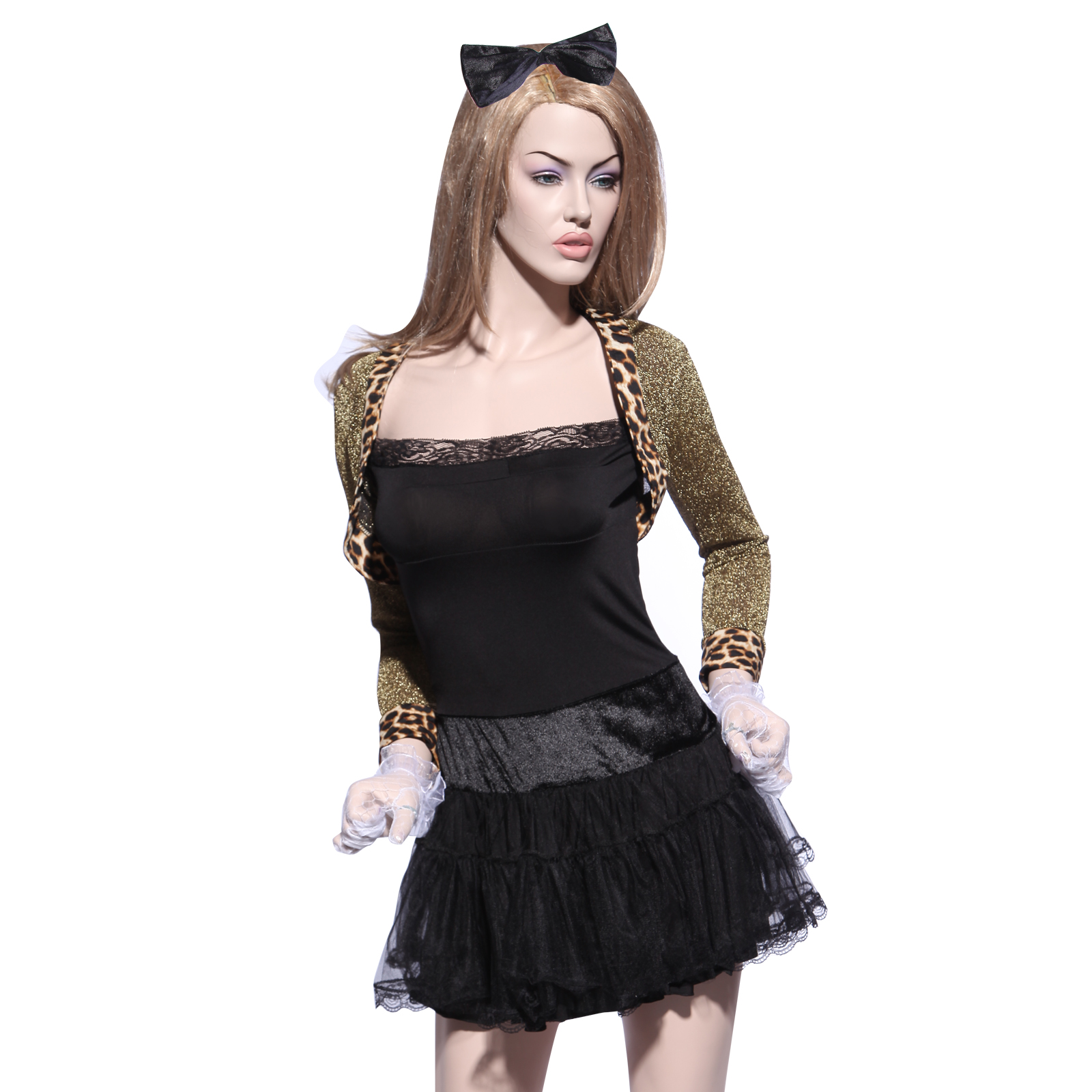 sexy 80er party kleid wild child madonna kost m rockabilly fastnacht damenkost m ebay. Black Bedroom Furniture Sets. Home Design Ideas