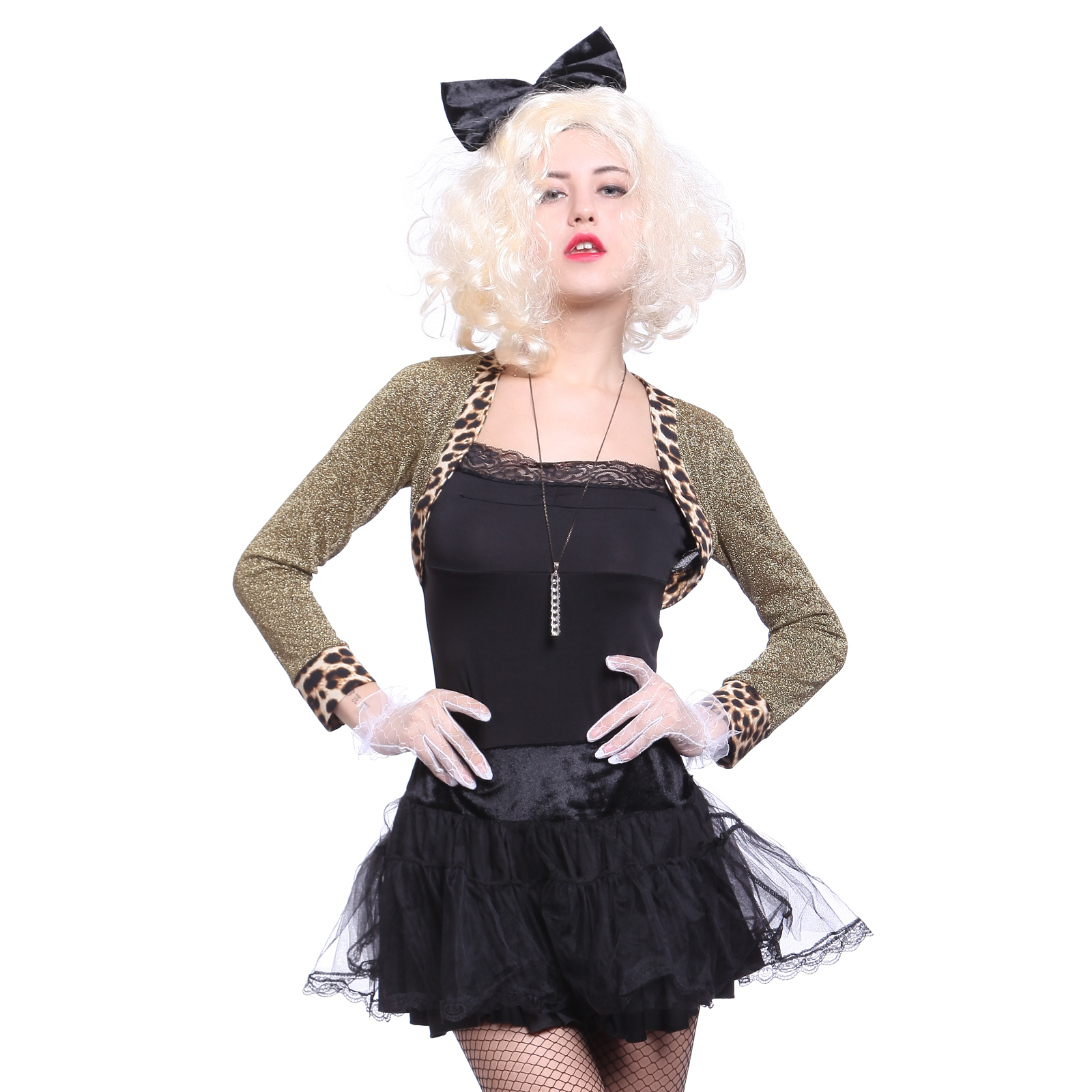 wild child madonna 80s ladies fancy dress 1980s costume. Black Bedroom Furniture Sets. Home Design Ideas