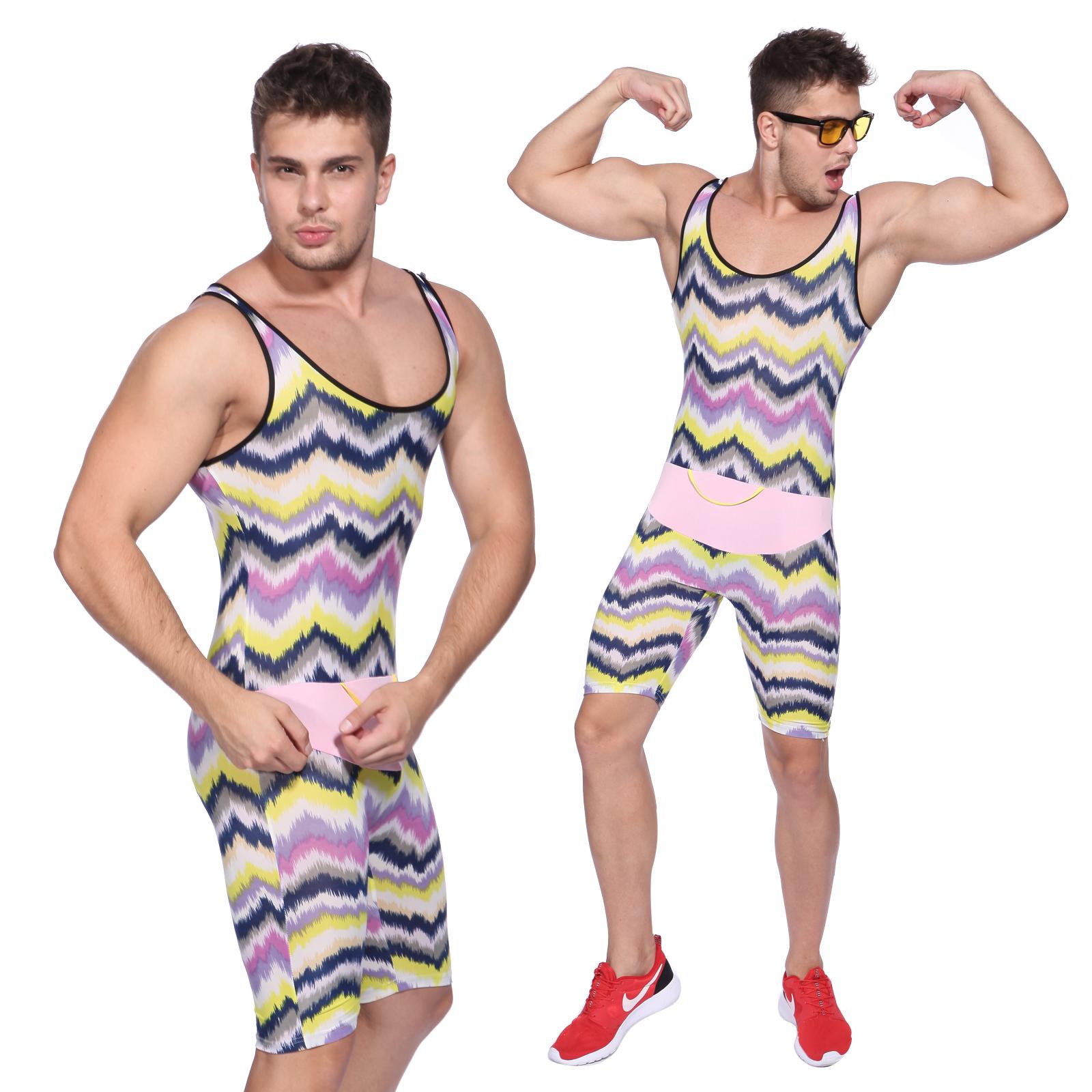 80s 90s Mr Motivator Energizer Fancy Dress Mens Gents Male Fitness - Does not apply