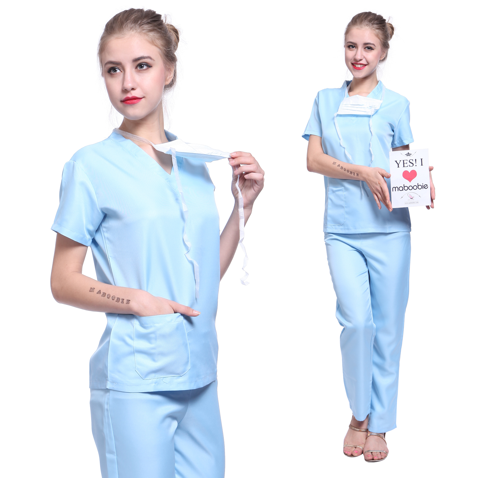 accessory adult clothing scrubs shoes uniform