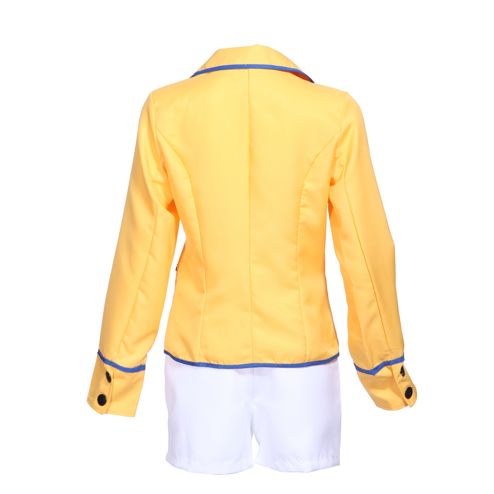 80s Sexy Ladies Hi de Hi Costume TV Yellow Coat Shorts Uniform ...