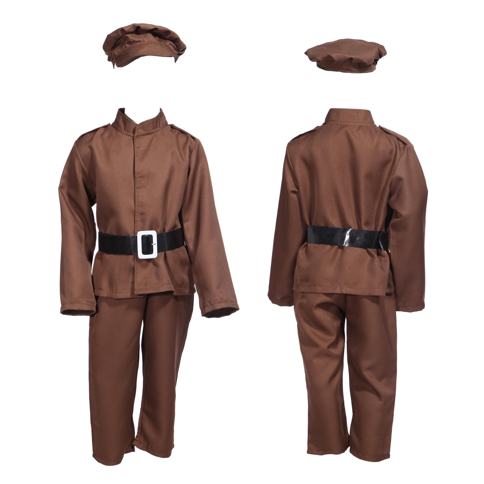 deguisement costume tenue pantalon militaire soldat ww2 enfant garcon 6 12 ans. Black Bedroom Furniture Sets. Home Design Ideas