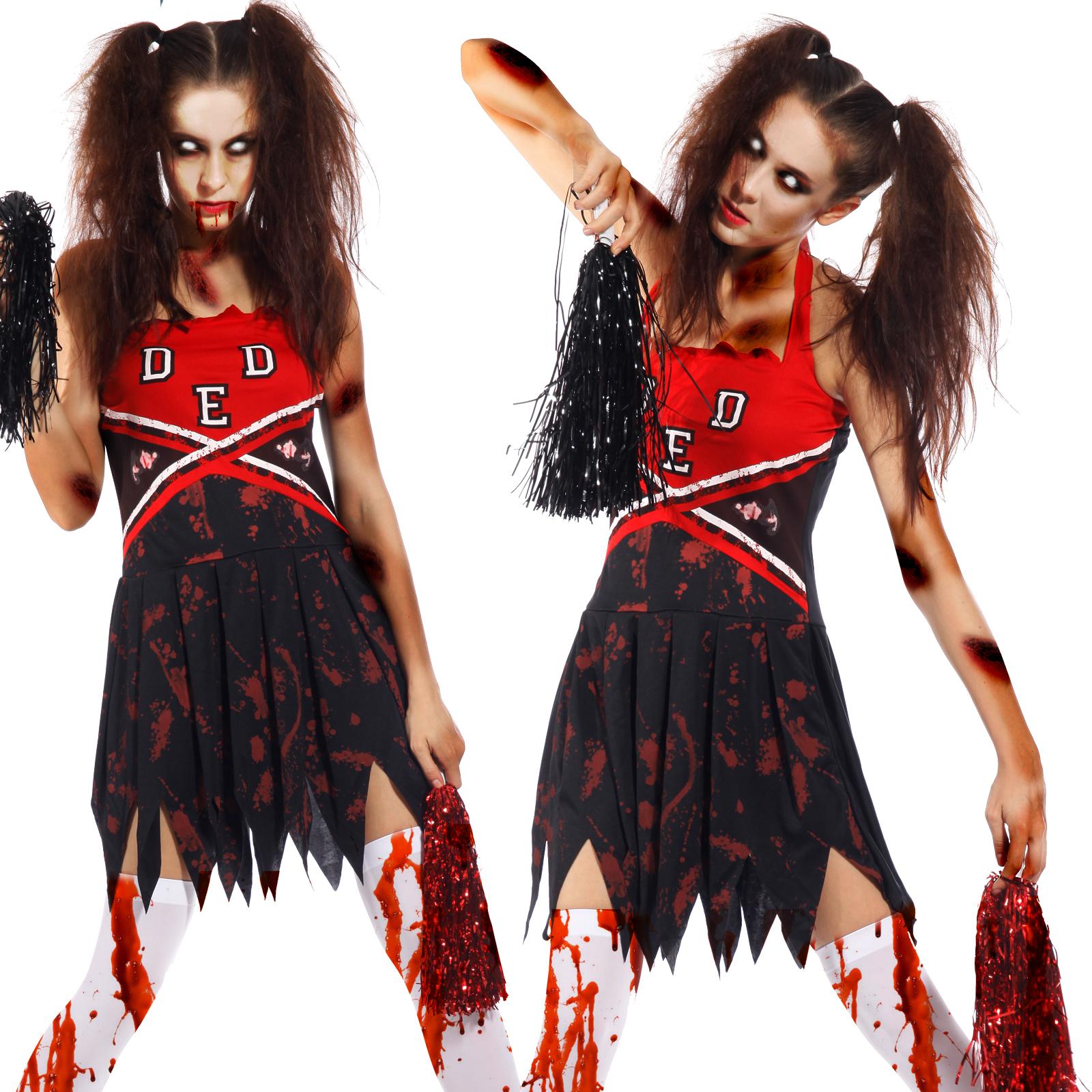 6 Horror Scary Zombie Costume Walking Dead Ghost