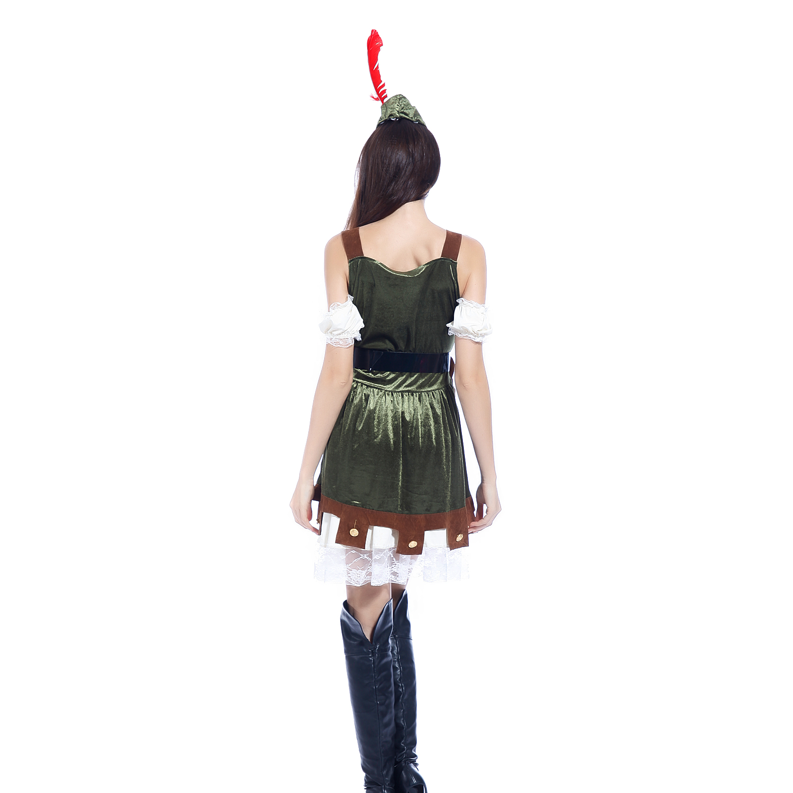 sc 1 th 225 & Racy Robin Hood Adult Costume This