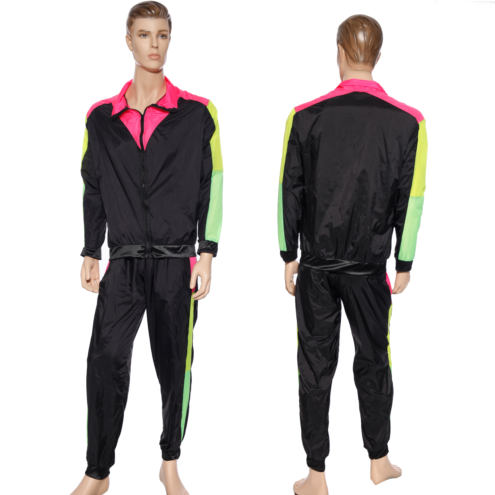 Survetement deguisement costume tenue homme femme annee 80 hip hop breakdance ebay - Annee 80 homme ...