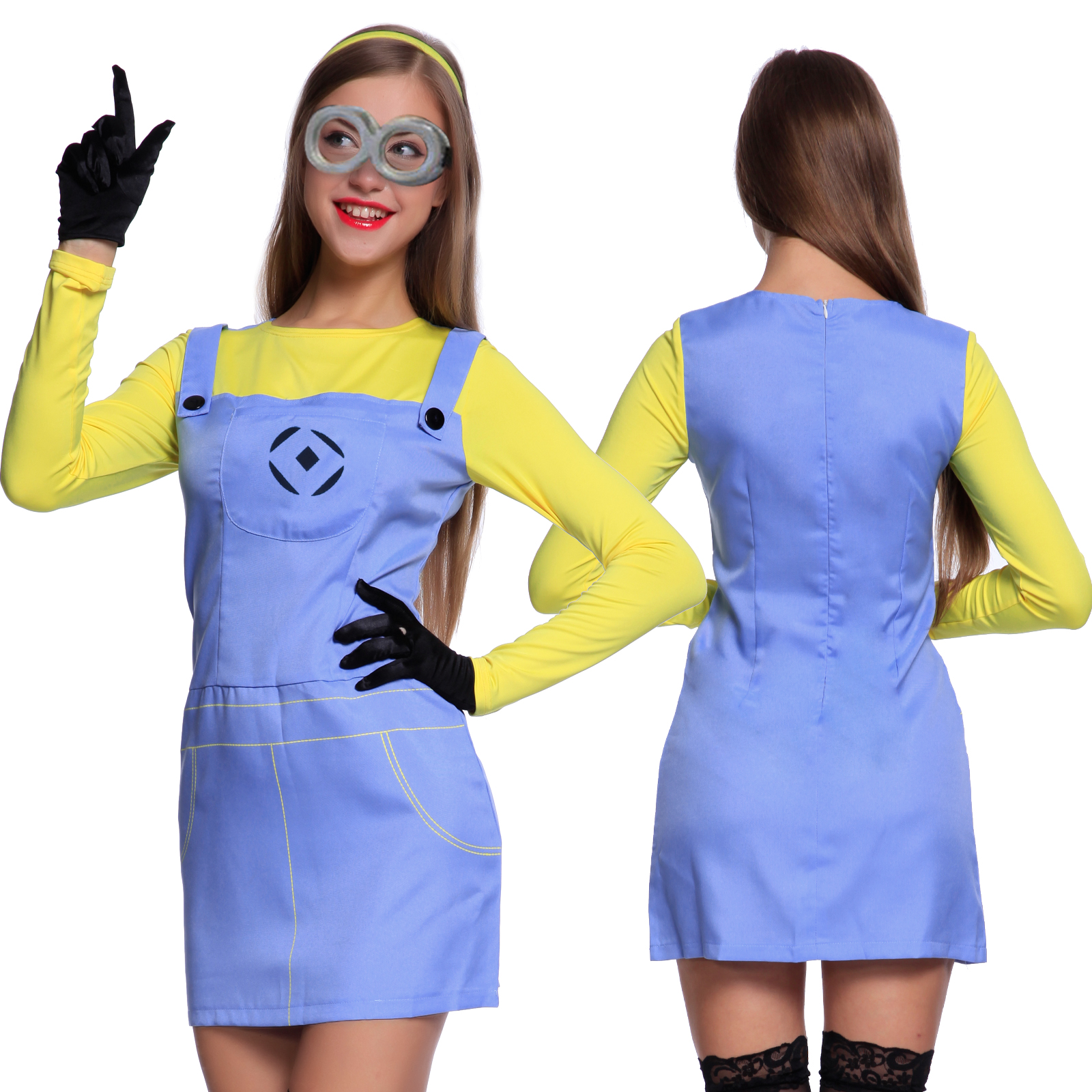 lovely minion outfit for women 8