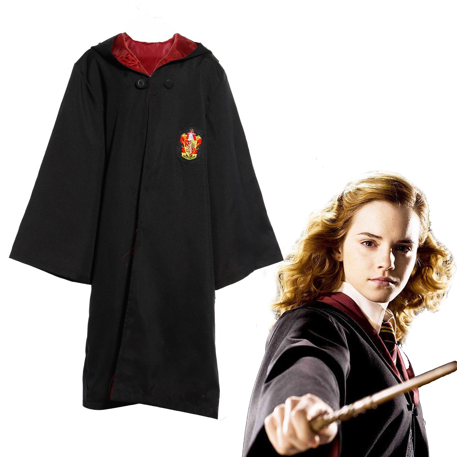 Tenue-Deguisement-Cape-a-Capuche-Harry-Potter-Gryffindor-Carnaval-Garcon-Fille