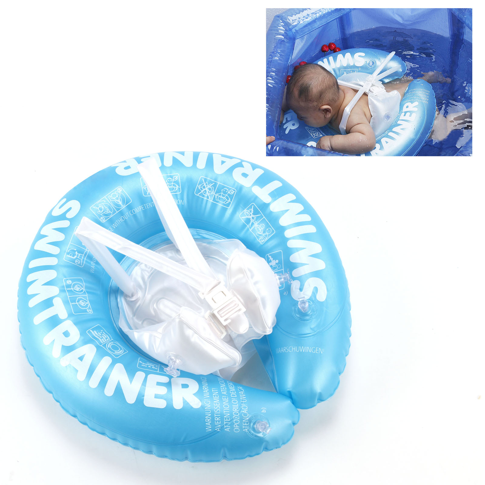 0.5-6 Year Infant Baby Toddler Inflatable Pool Swim Ring