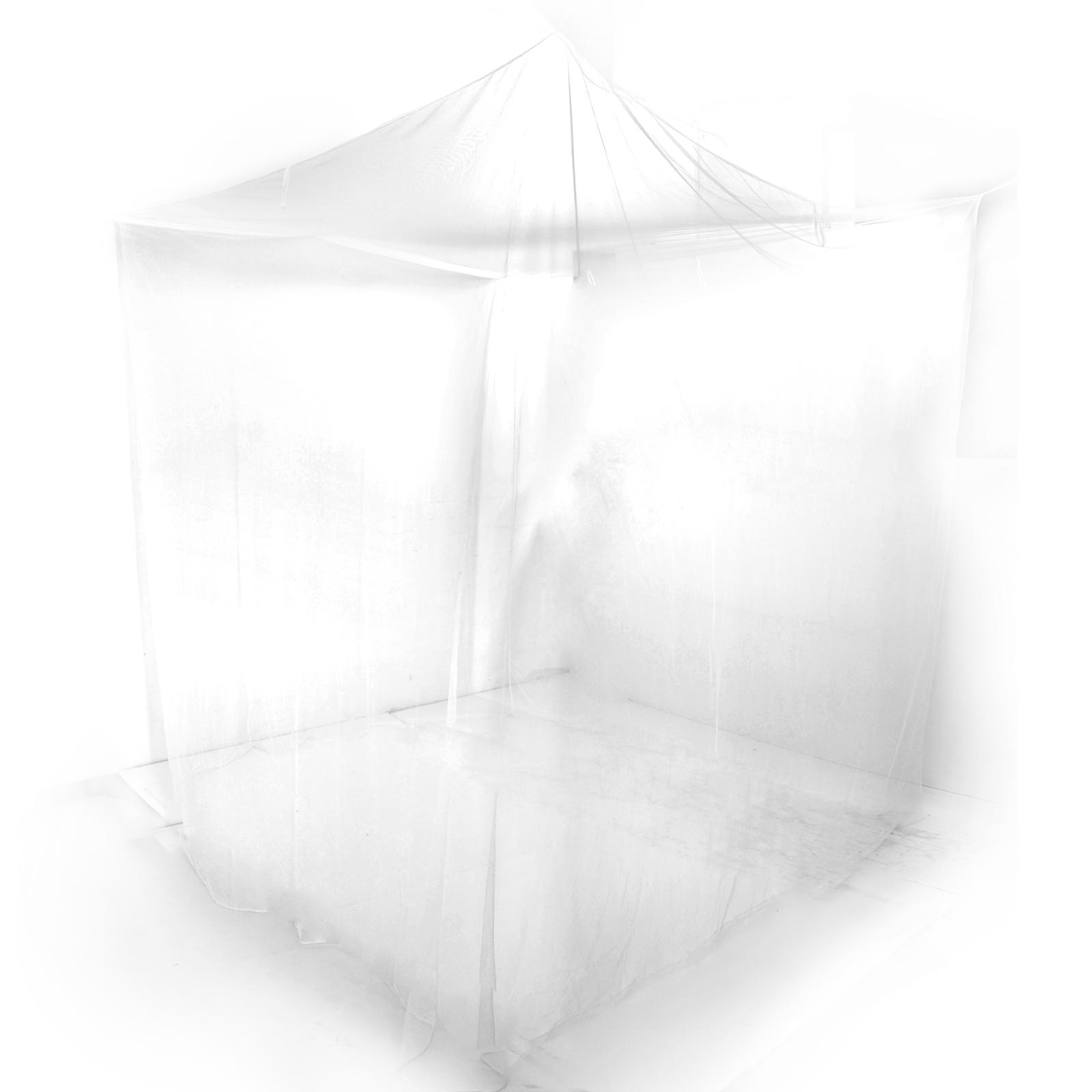 Tenda zanzariera da letto rete protezione anti insetti - Zanzariera da letto ikea ...