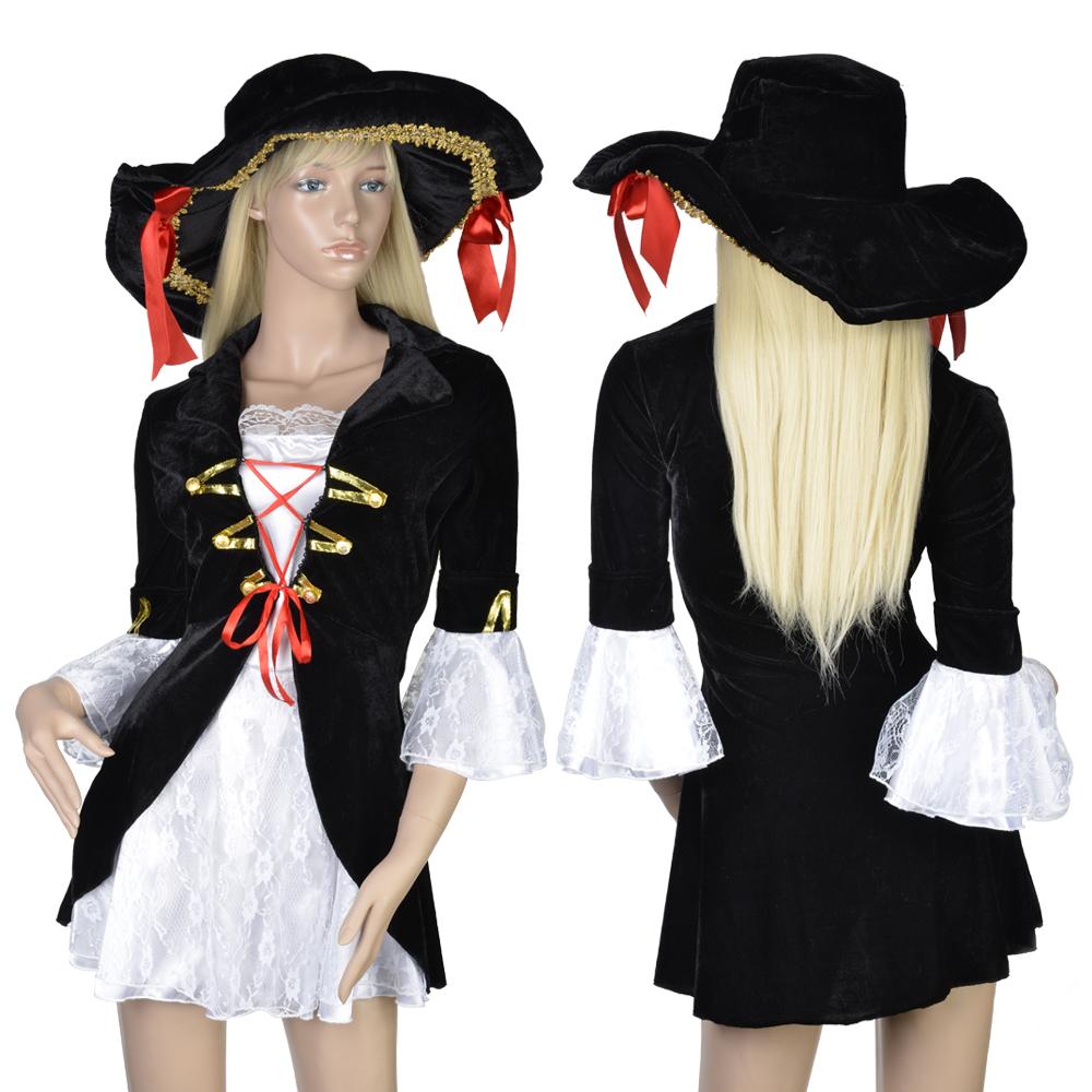 damen piratin kost m piratenkost m seer uber piraten fasching karneval s l ebay. Black Bedroom Furniture Sets. Home Design Ideas