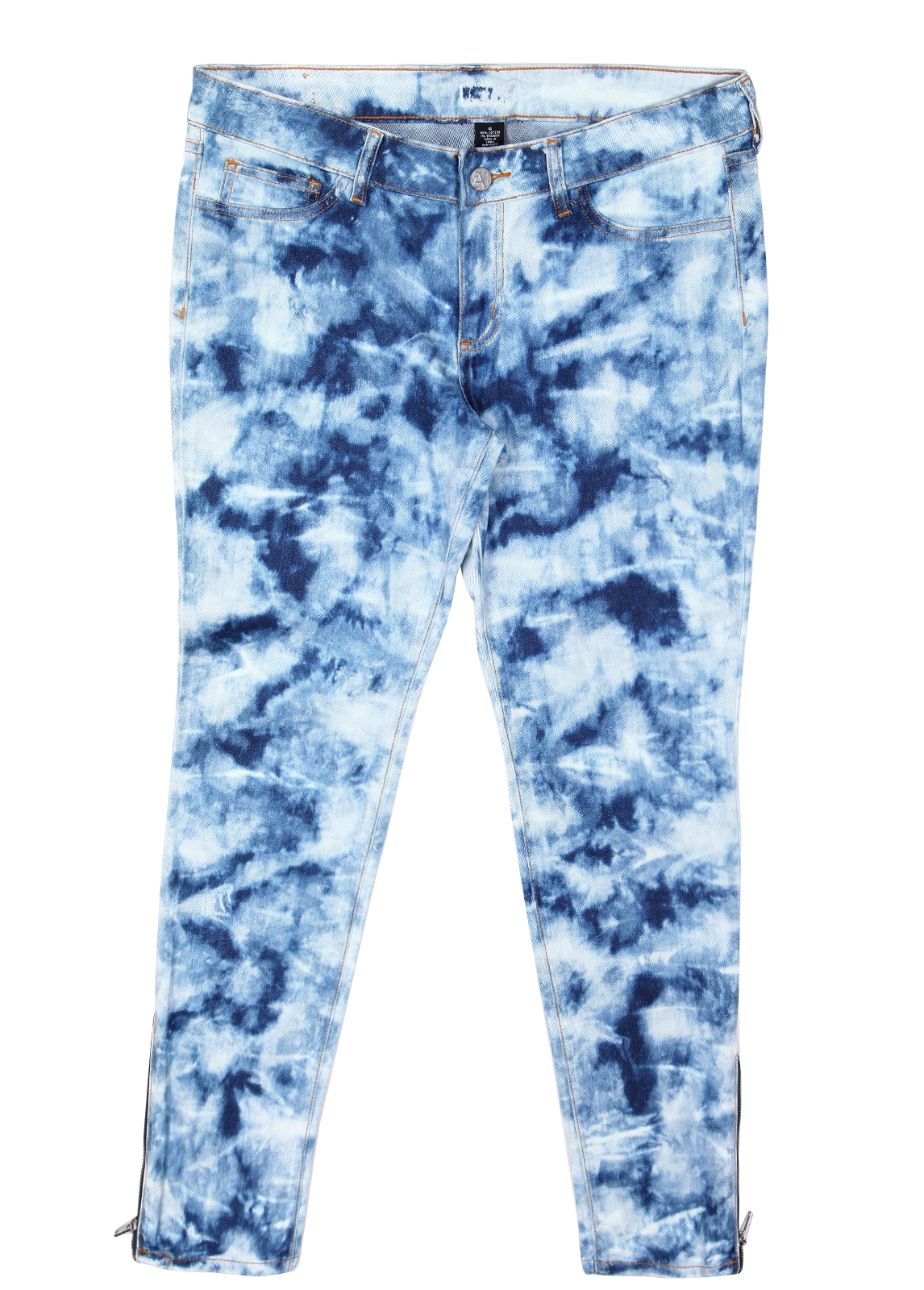 Womens Skinny Ripped Jeans