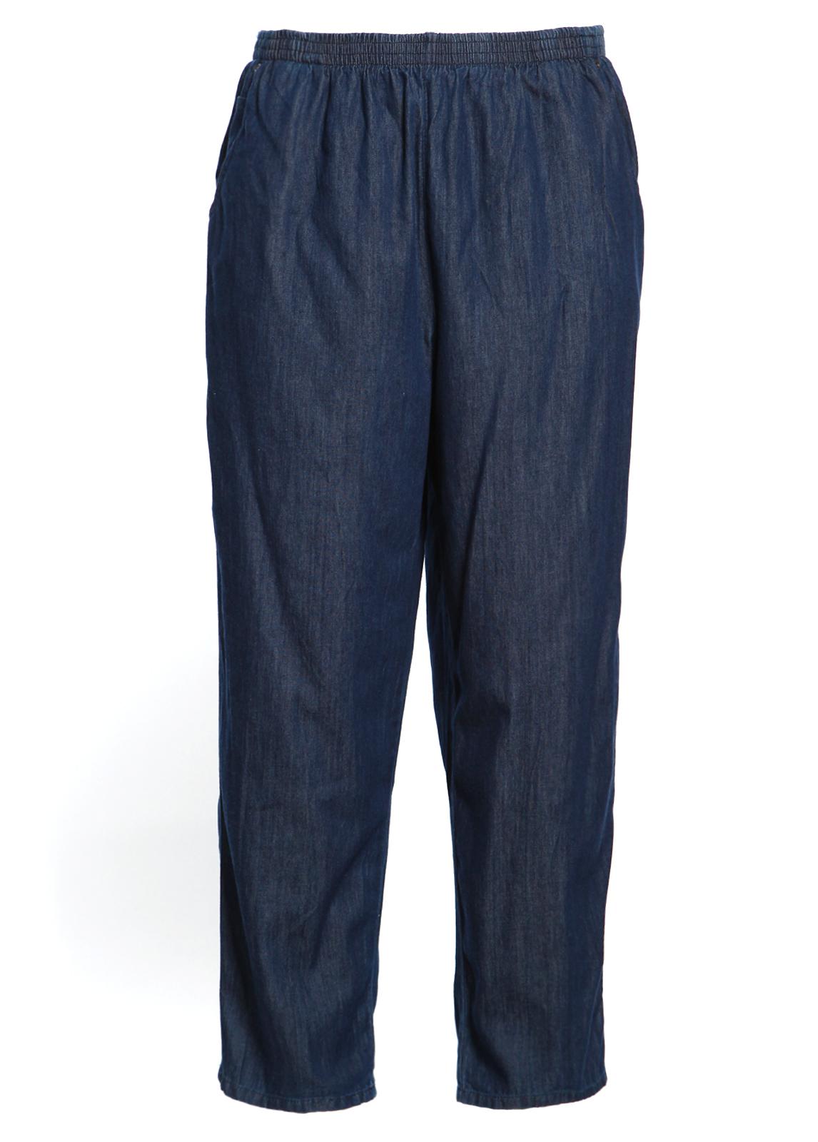 Perfect Laura Scott Women39s Elastic Waist Jeans  Sears