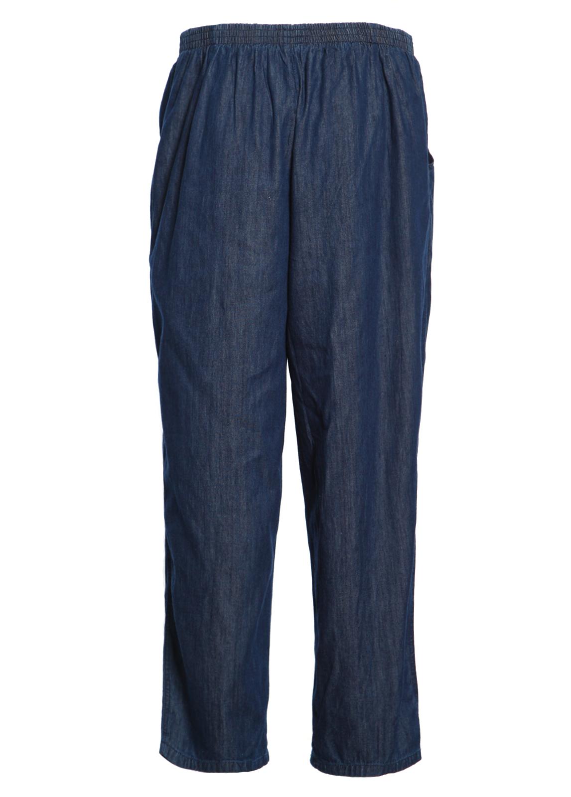 Koret Women Elastic Waist Relax Denim Relax Jeans Pull On ... - photo#40