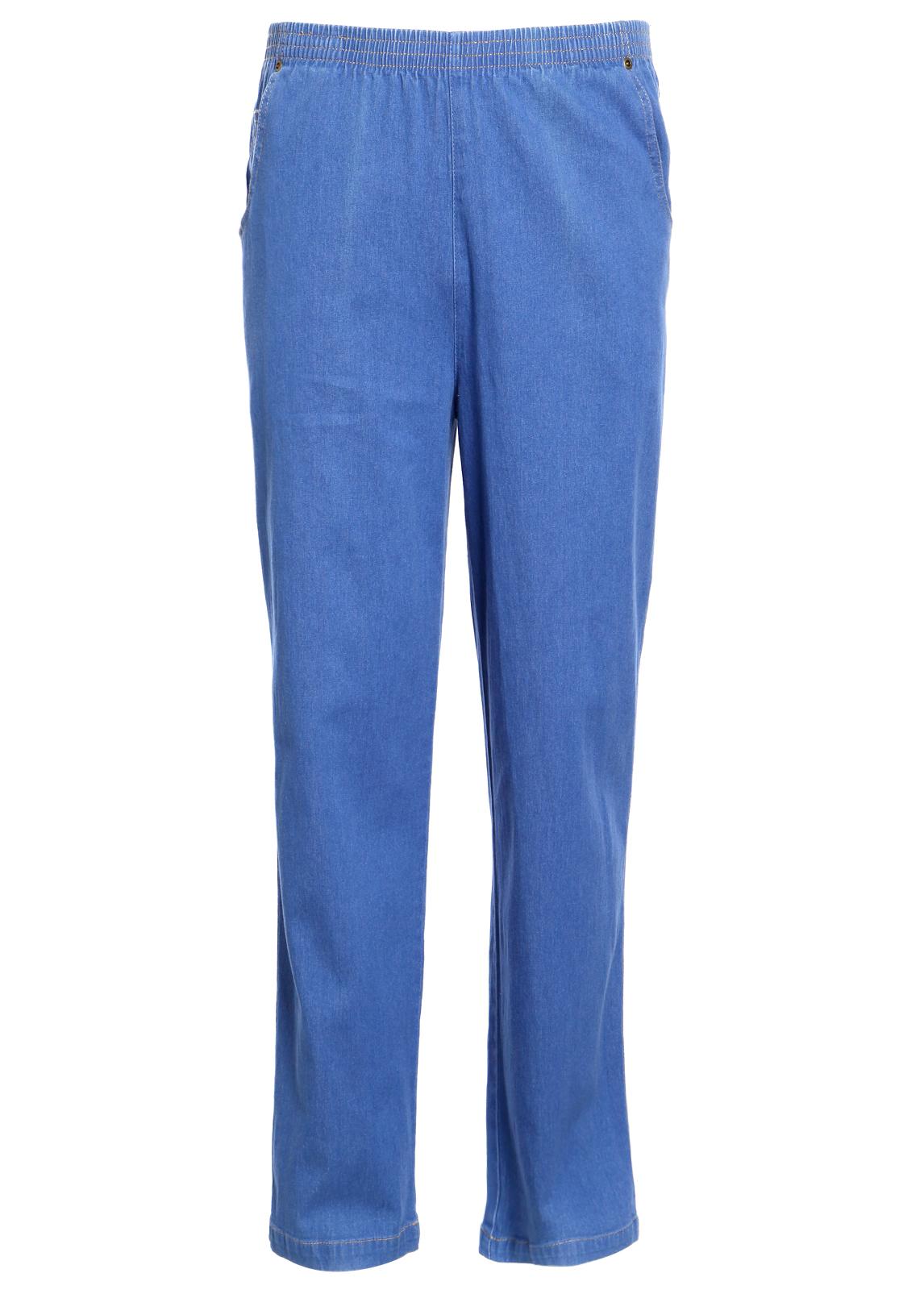 Koret Women Elastic Waist Relax Denim Jeans Pencil ...