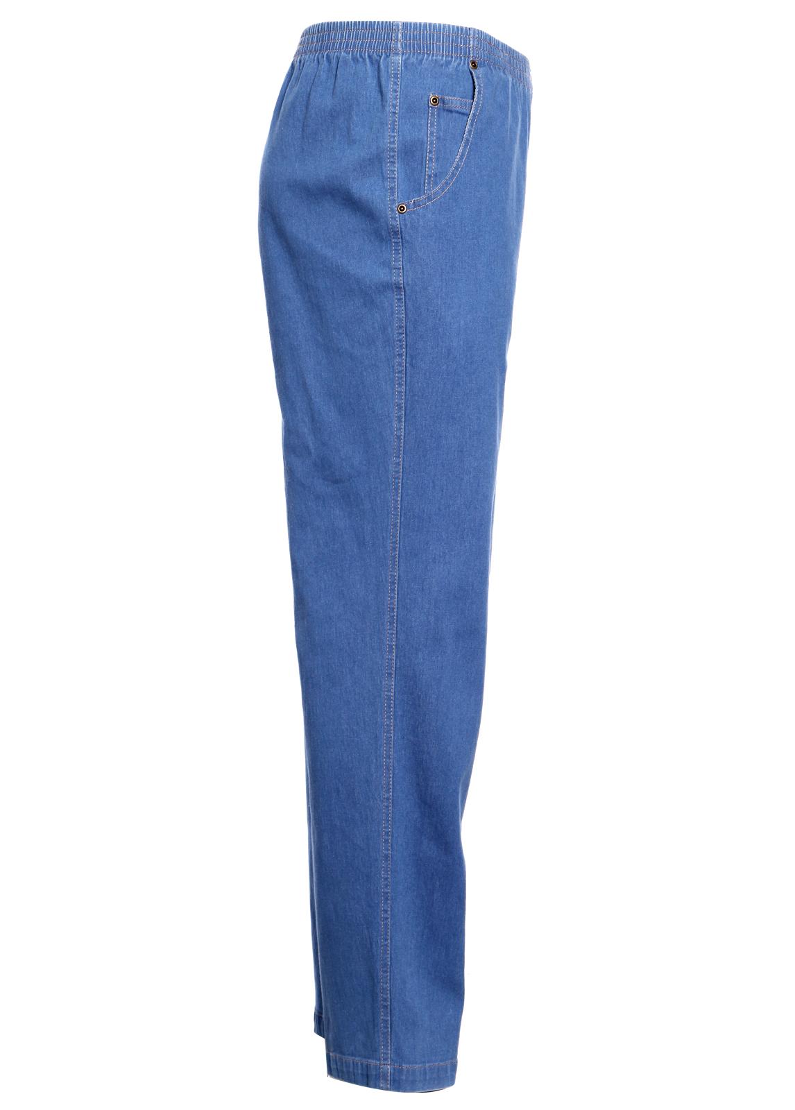 Koret Women Elastic Waist Relax Denim Jeans Pencil ... - photo#18