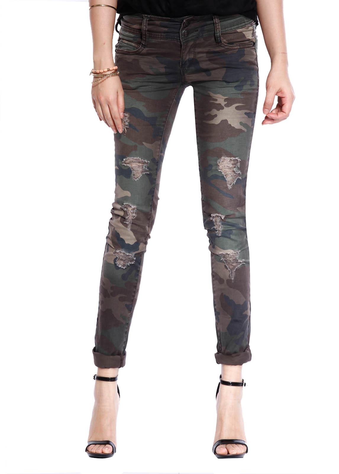 Joe Boxer Juniors' Push-Up Skinny Jeans - Camouflage. Sold by Sears. $ - $ $ - $ Fashion2Love Style 9O S Women s Camouflage High Waist Light Denim Skinny Jeans. Sold by Fashion2love. $ $ Bongo Juniors' Ruched Jogger Pants - Camouflage. Sold by Sears. $ $
