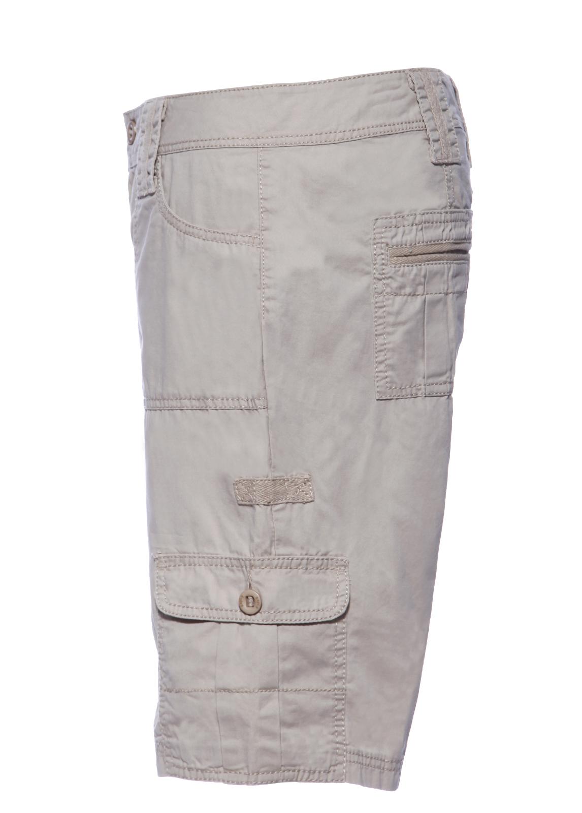 Ladies/Women Outdoor Flat Pocket Shorts 100% Cotton