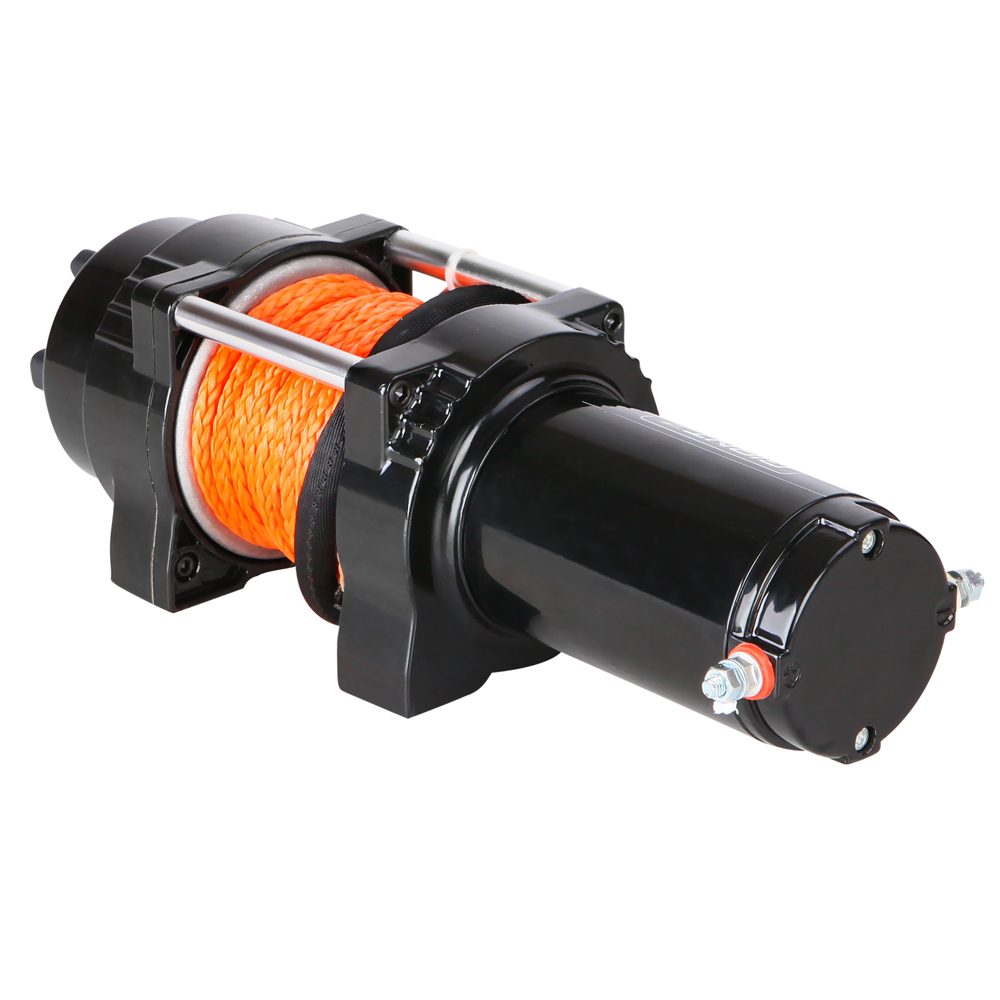 12v Wireless 4500lbs Electric Winch Synthetic Rope For Atv