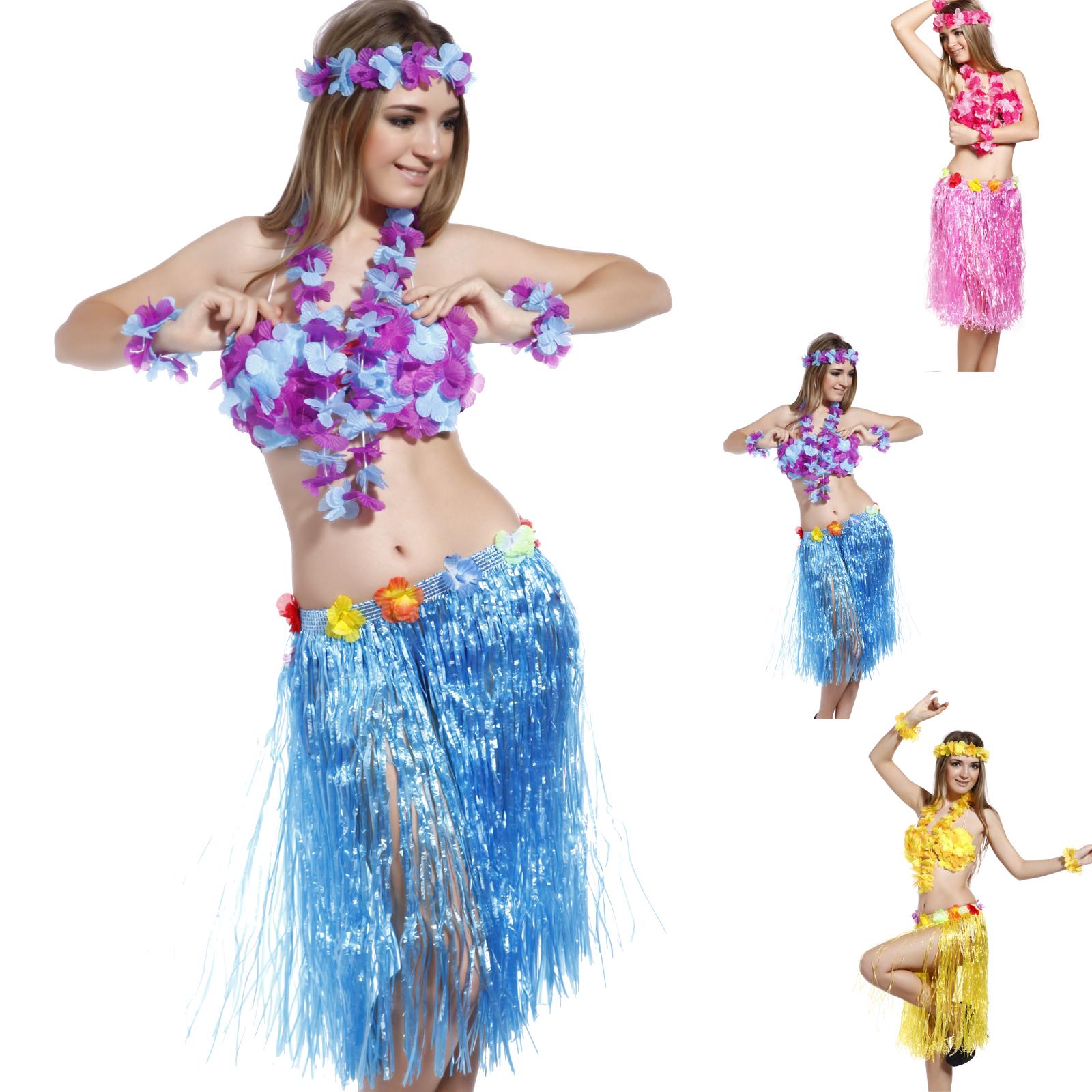 Гавайская юбка хула своими руками 58