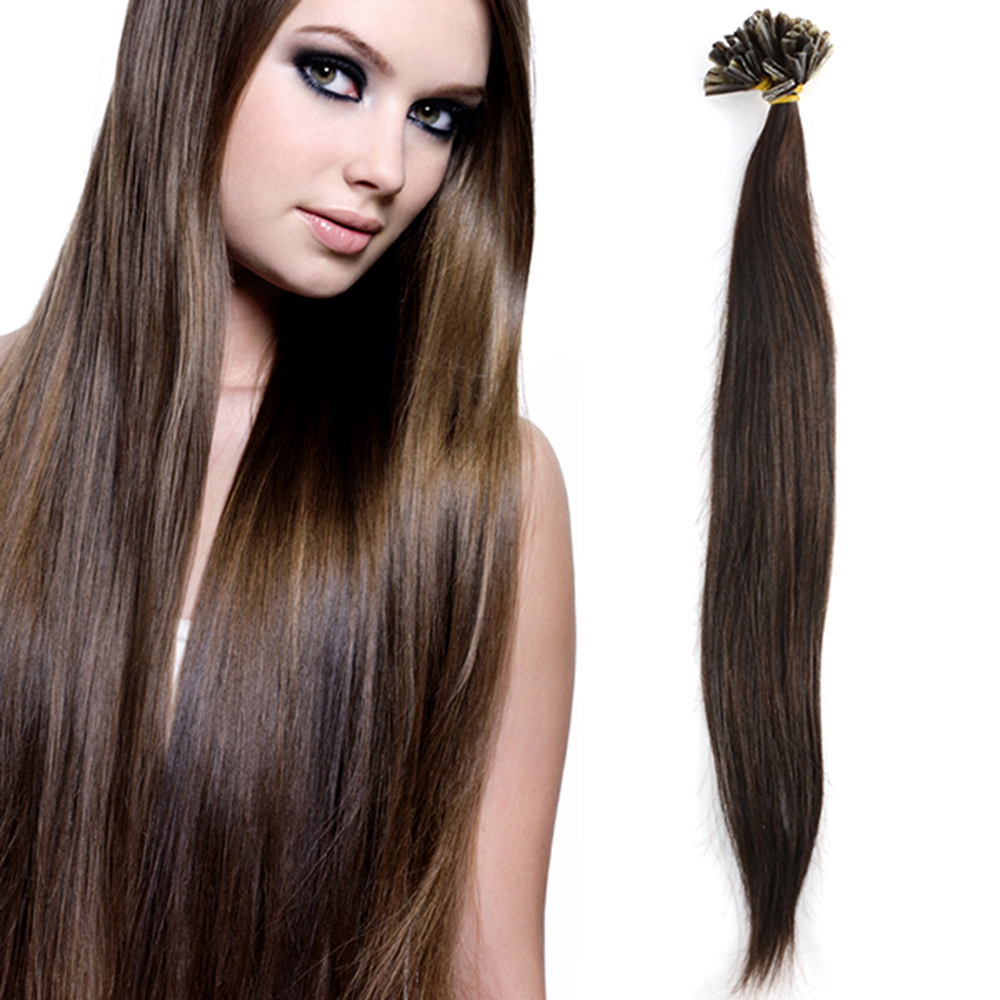 100 meche cheveux naturel 100 remy hair extension 45cm pose a chaud ebay. Black Bedroom Furniture Sets. Home Design Ideas